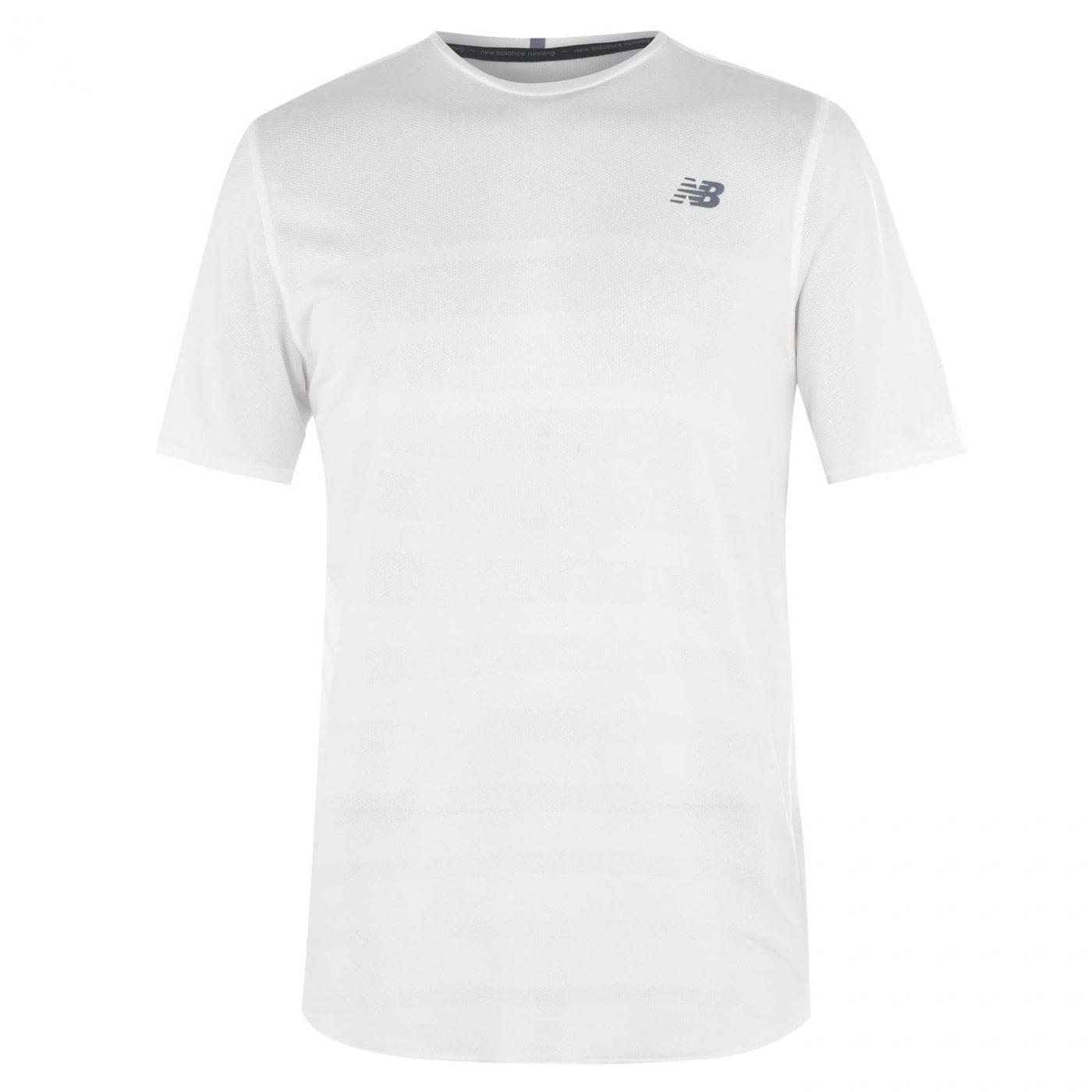 New Balance Short Sleeve Speed T Shirt Mens