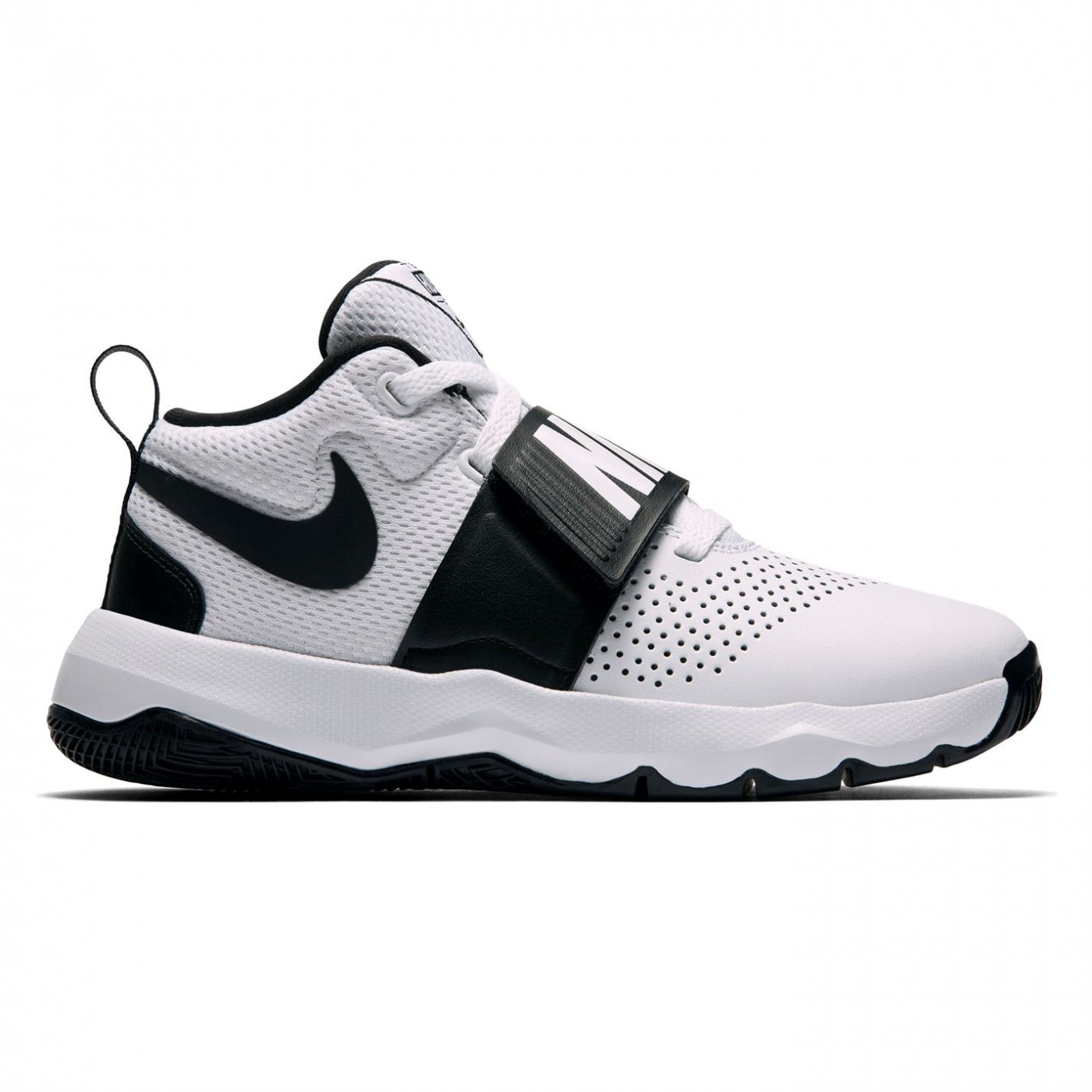Nike Team Hustle D8 Childrens Basketball Trainers