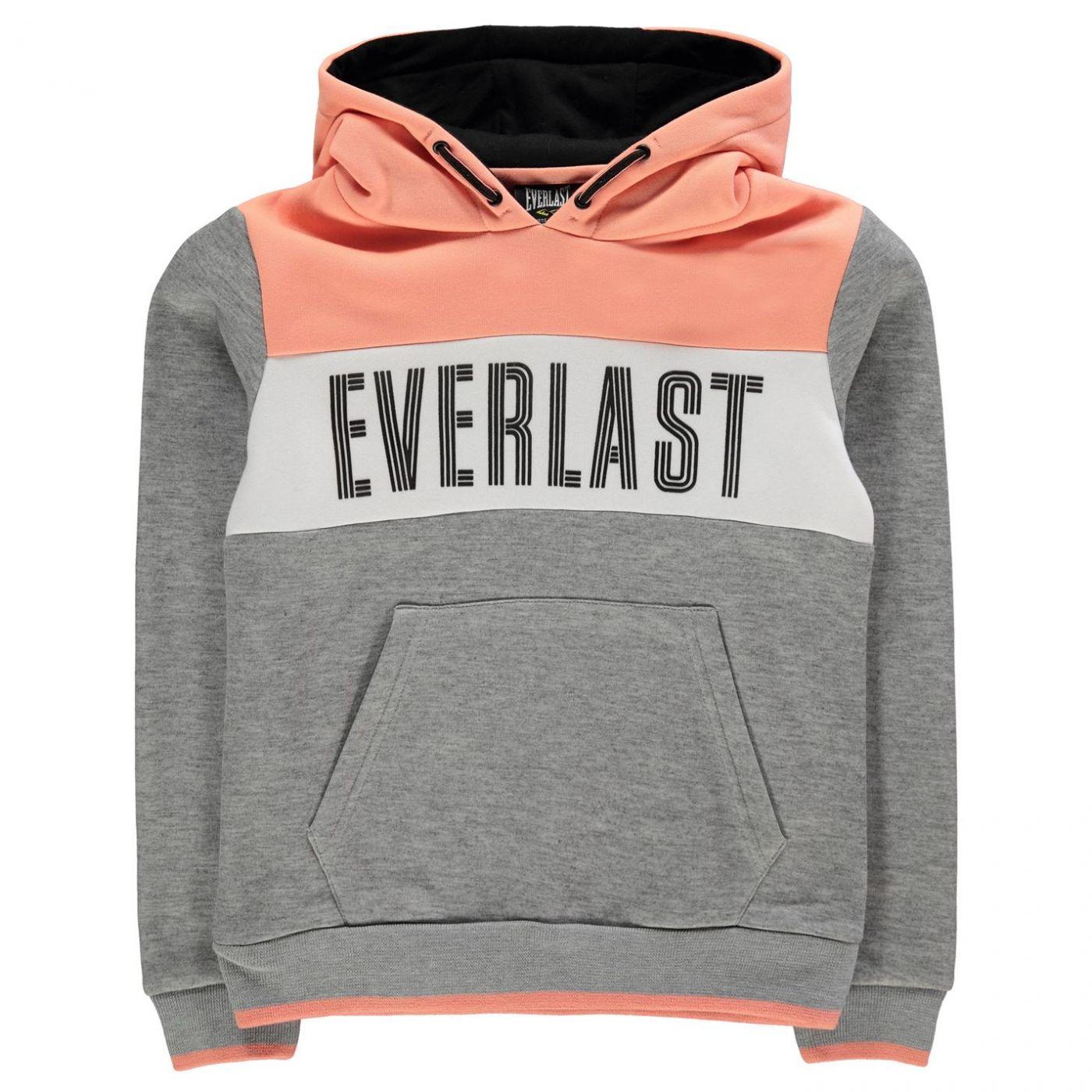 Everlast Large Logo OTH Hoody Junior Girls