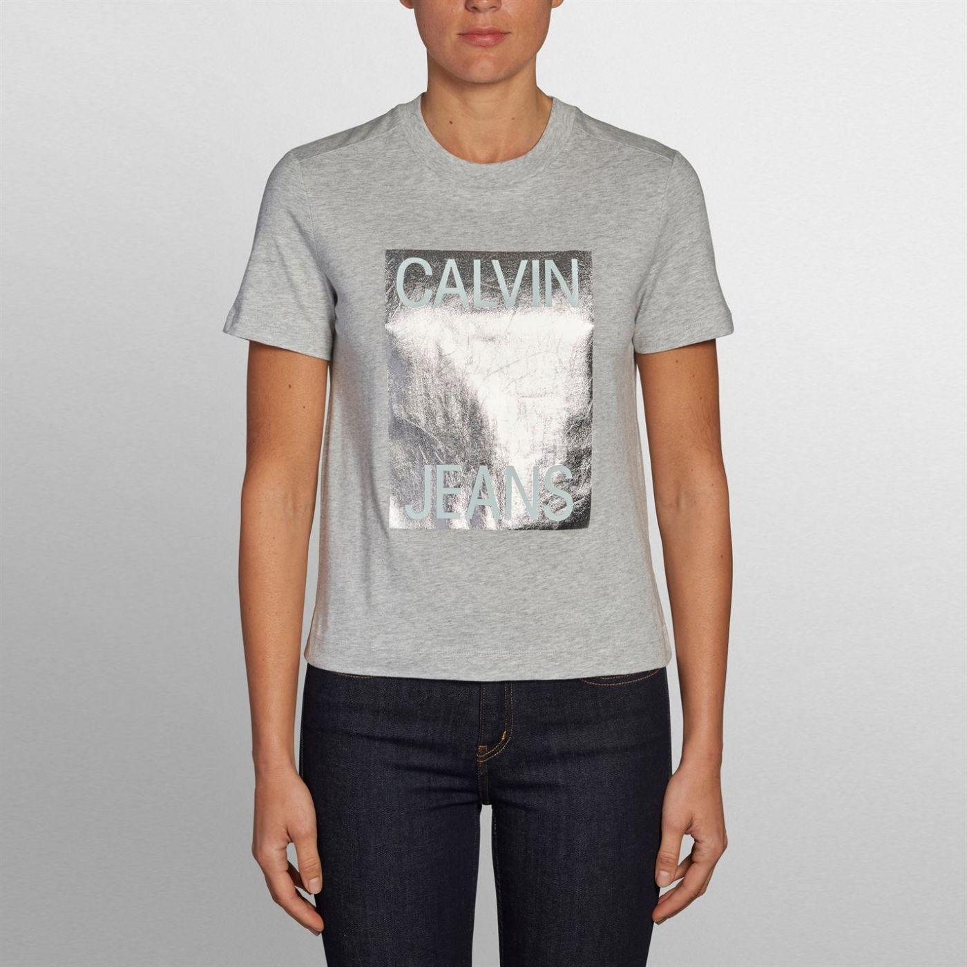 Calvin Klein Jeans Modern Straight T Shirt