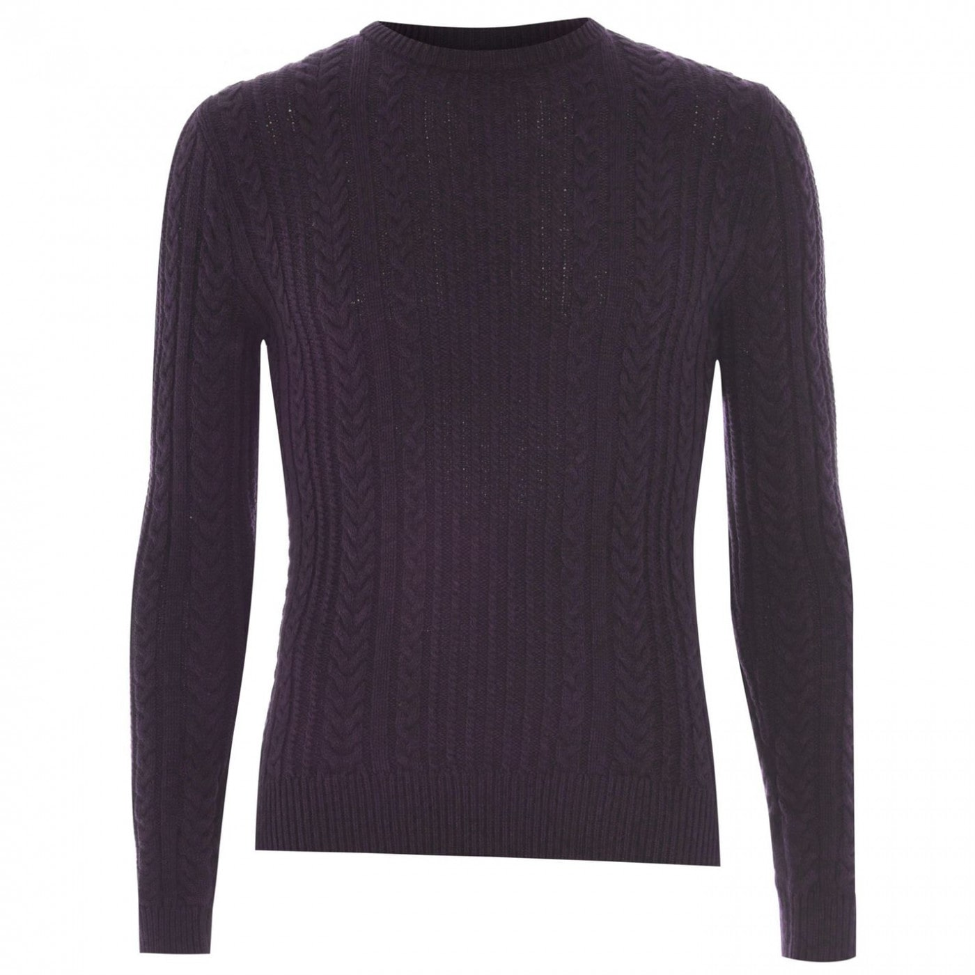 Linea Fisher Cable Crew Jumper