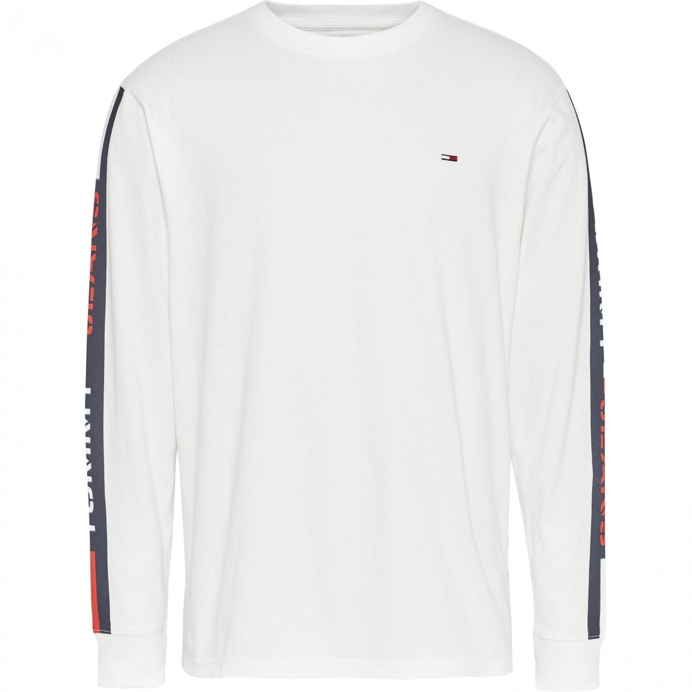Tommy Jeans Long Sleeve Tape T Shirt