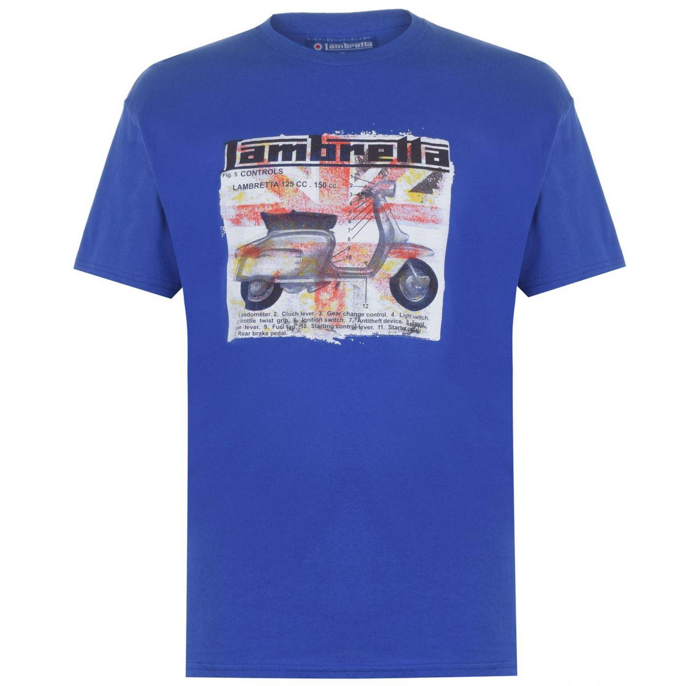 Lambretta Mens Scooter T Shirt