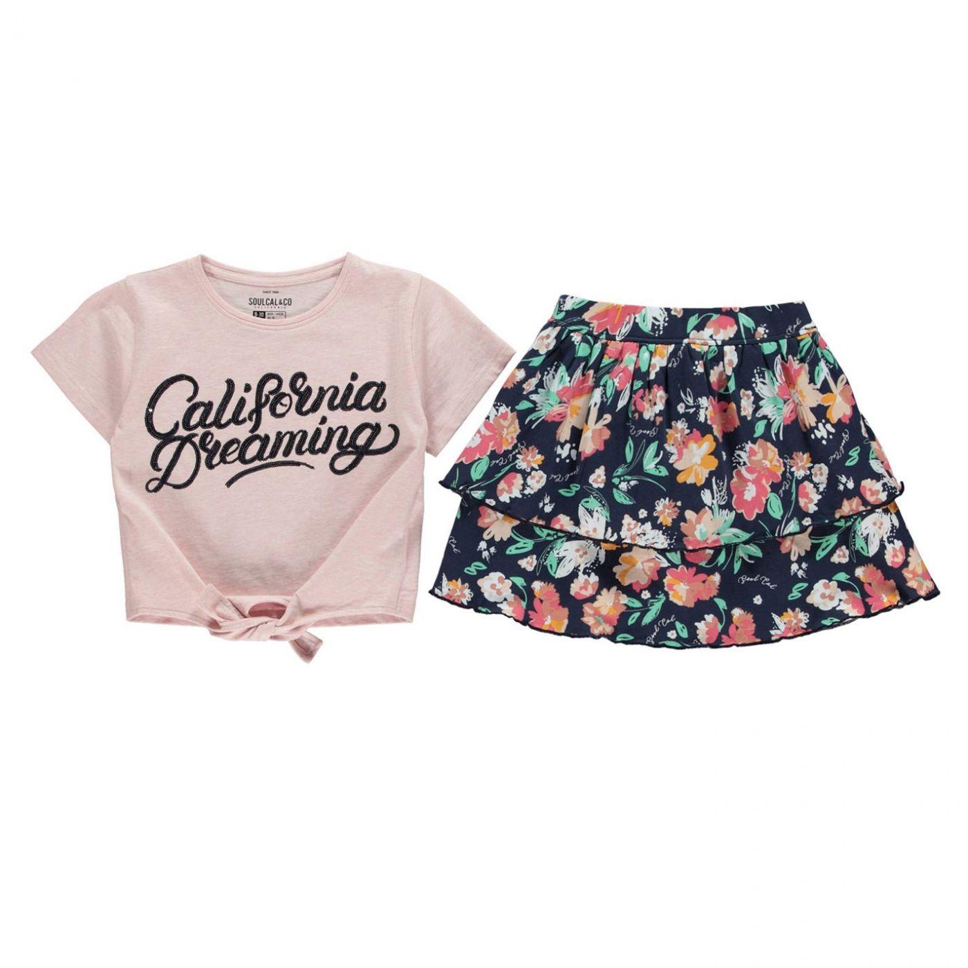 SoulCal Skirt Set Girls