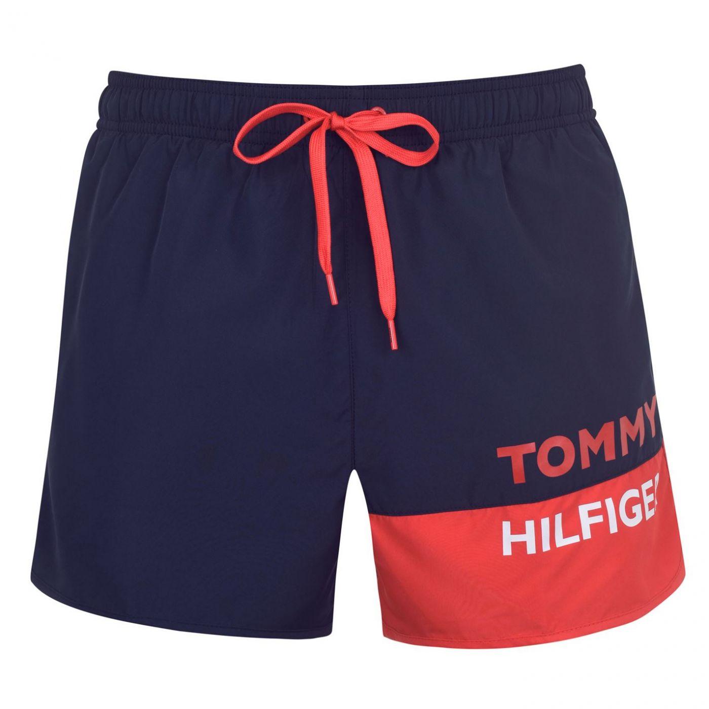 Tommy Bodywear Bold Runner Swim Shorts