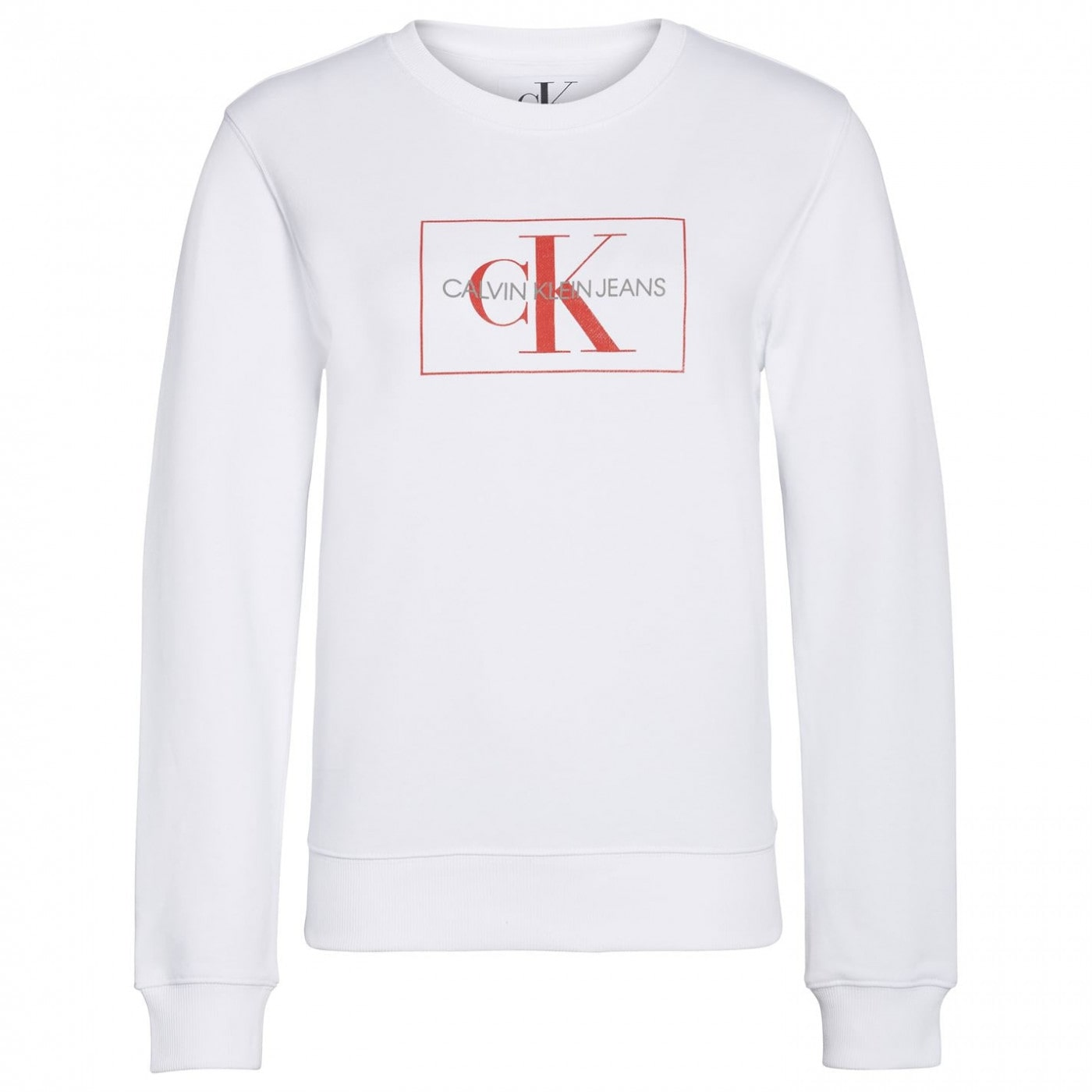 Calvin Klein Jeans Mono Logo Box Crew Sweatshirt