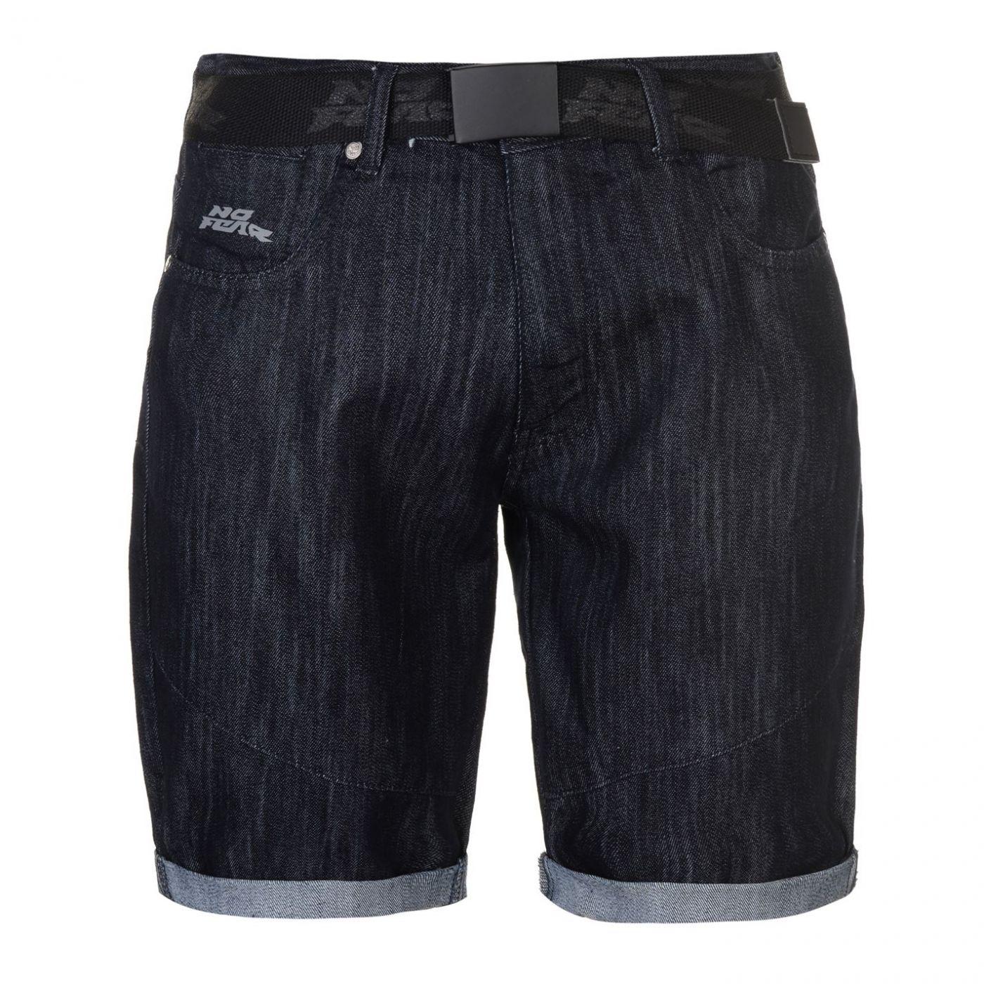 No Fear Belt Shorts Mens