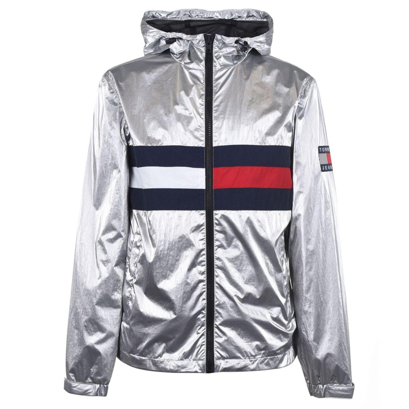 Tommy Jeans Metallic Lightweight Rain Jacket