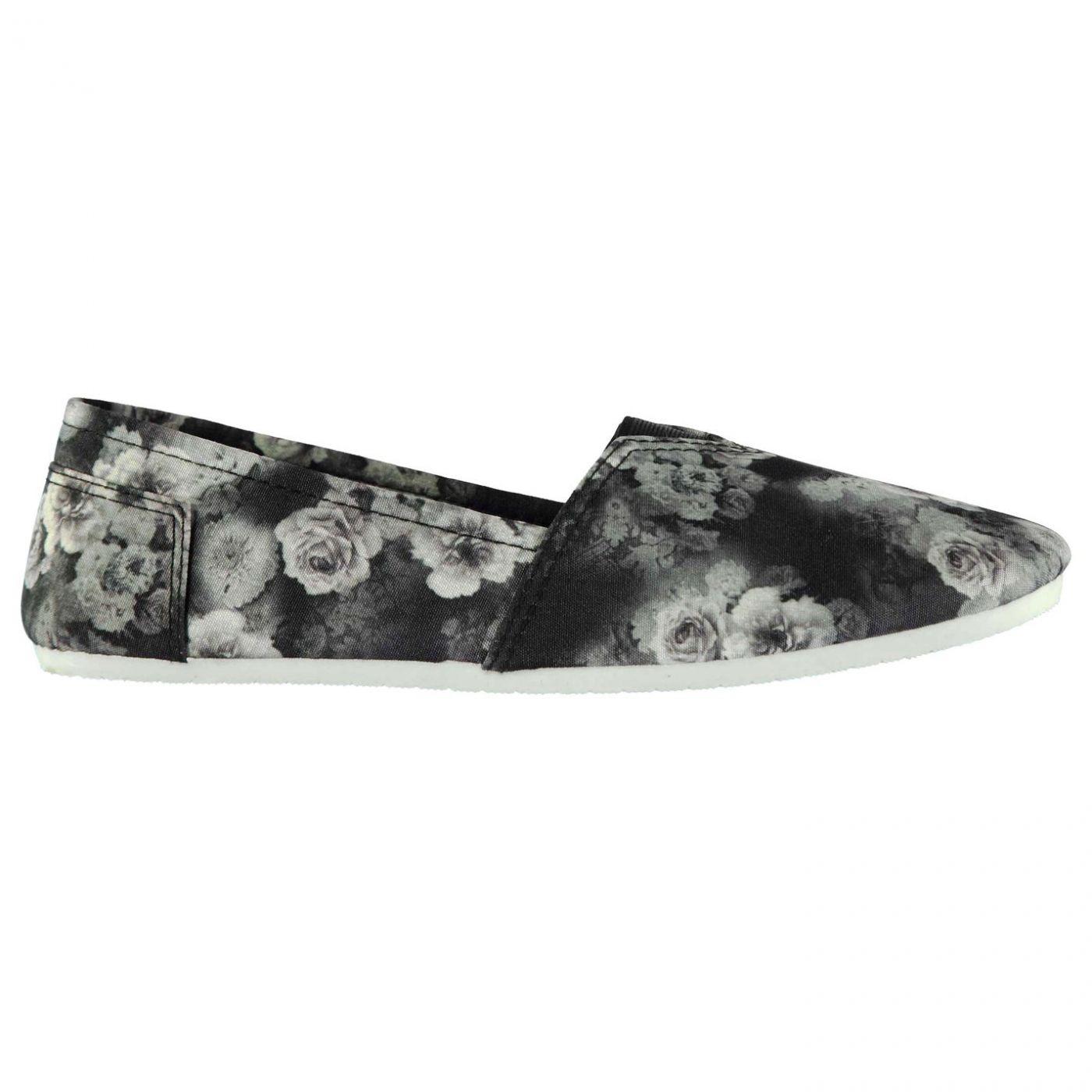 Miss Fiori Ladies Sams Canvas Shoes