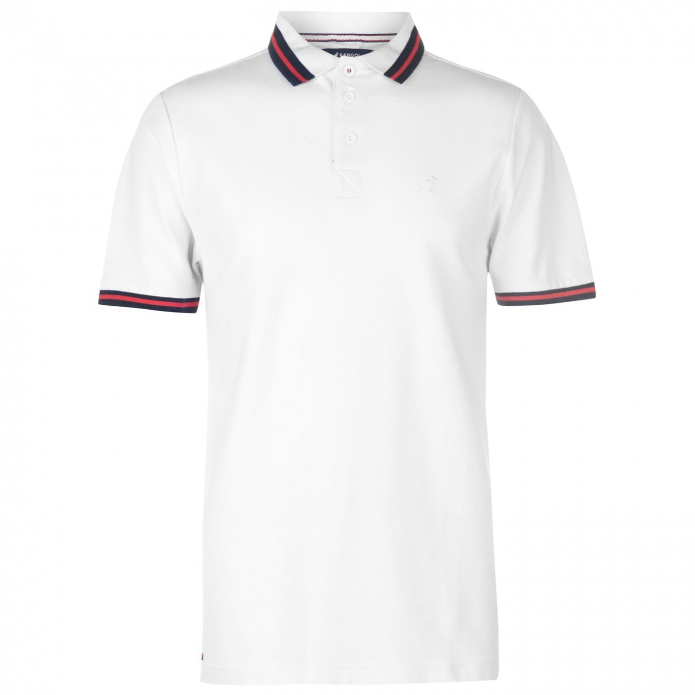 Kangol Slim Fit Polo Shirt Mens