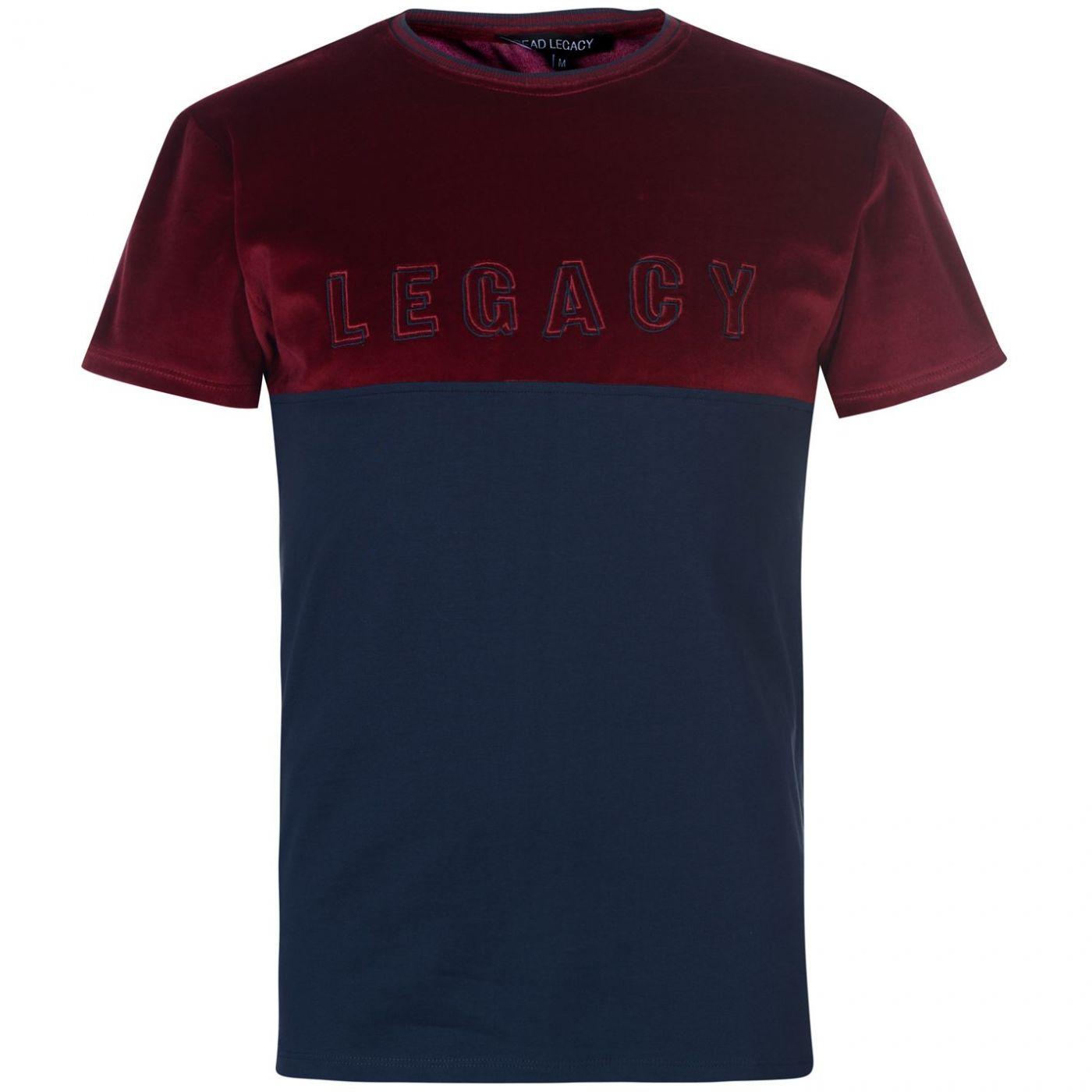 Dead Legacy Velour T Shirt