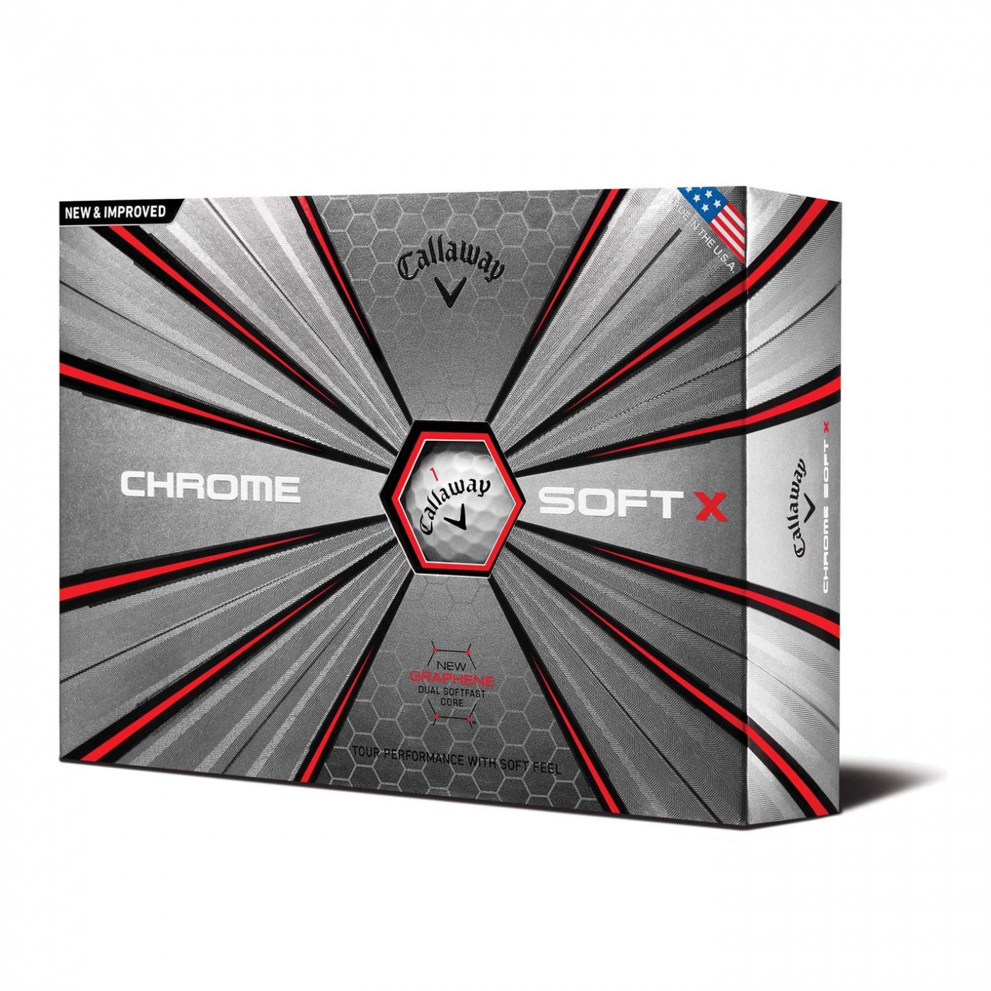 Callaway Chrom Soft X 12 Pack Golf Balls