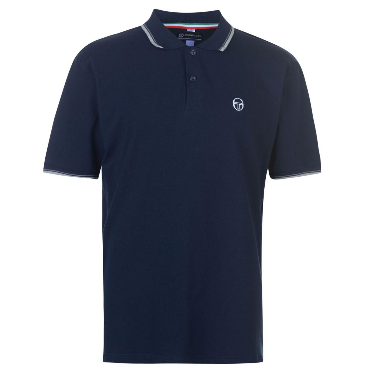 Sergio Tacchini Zuck Polo Shirt Mens