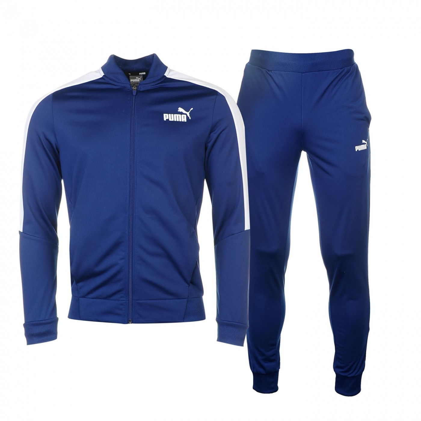 4004865177 Puma Baseball Collar Tracksuit Mens - FACTCOOL