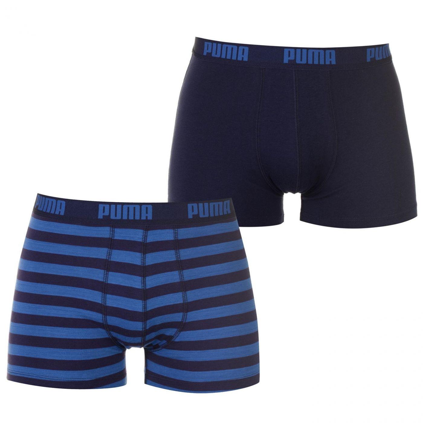Puma Stripe Boxer Shorts 2 Pack Mens