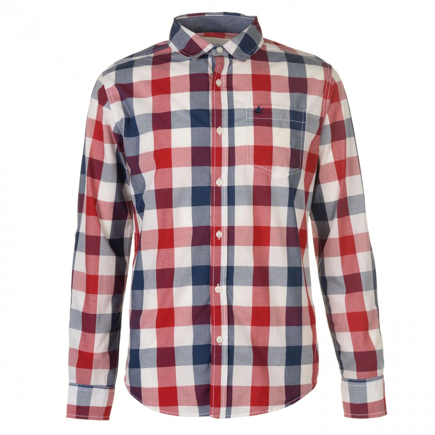 SoulCal Cal LSChk Shirt Sn81