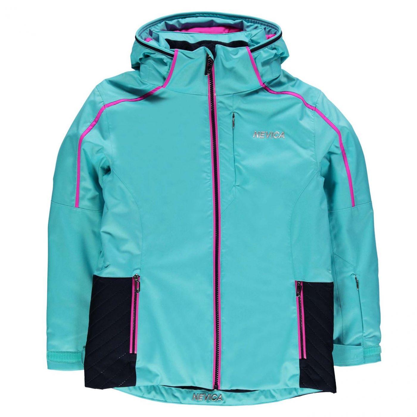 Nevica Meribel Girls Ski Jacket Age 7-8 RRP £99.99 BNWT
