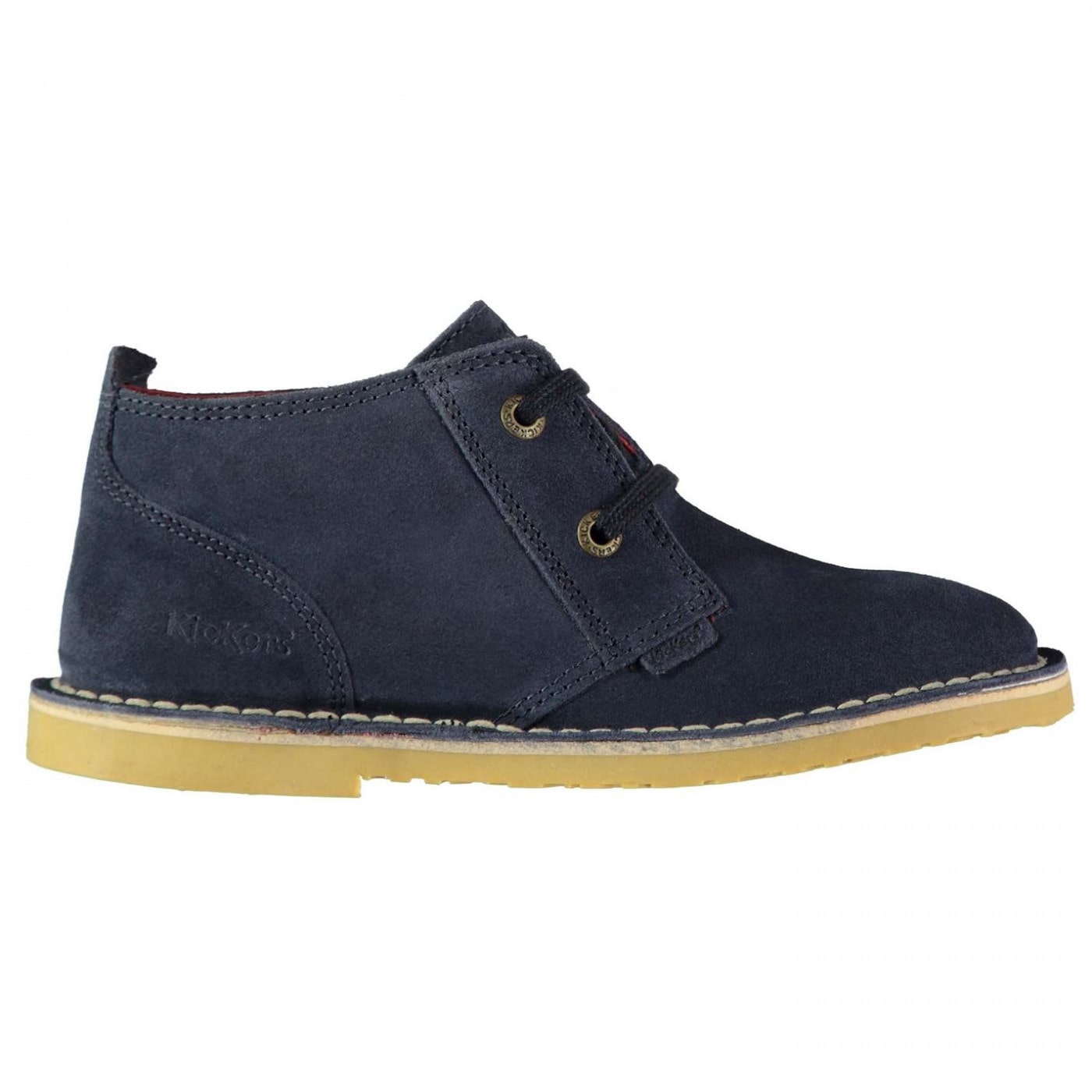 Kickers Des Suede Boys Shoes