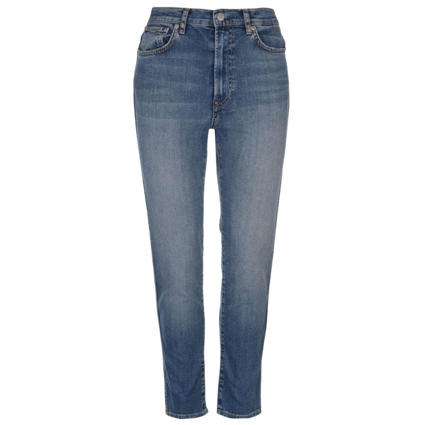 Pepe Jeans Betty High Waist Straight Mom Jeans