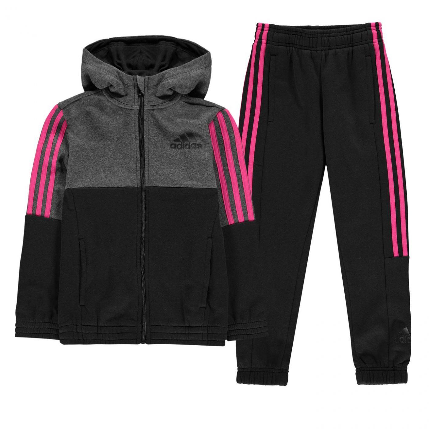 Adidas Hojo Tracksuit Junior Girls