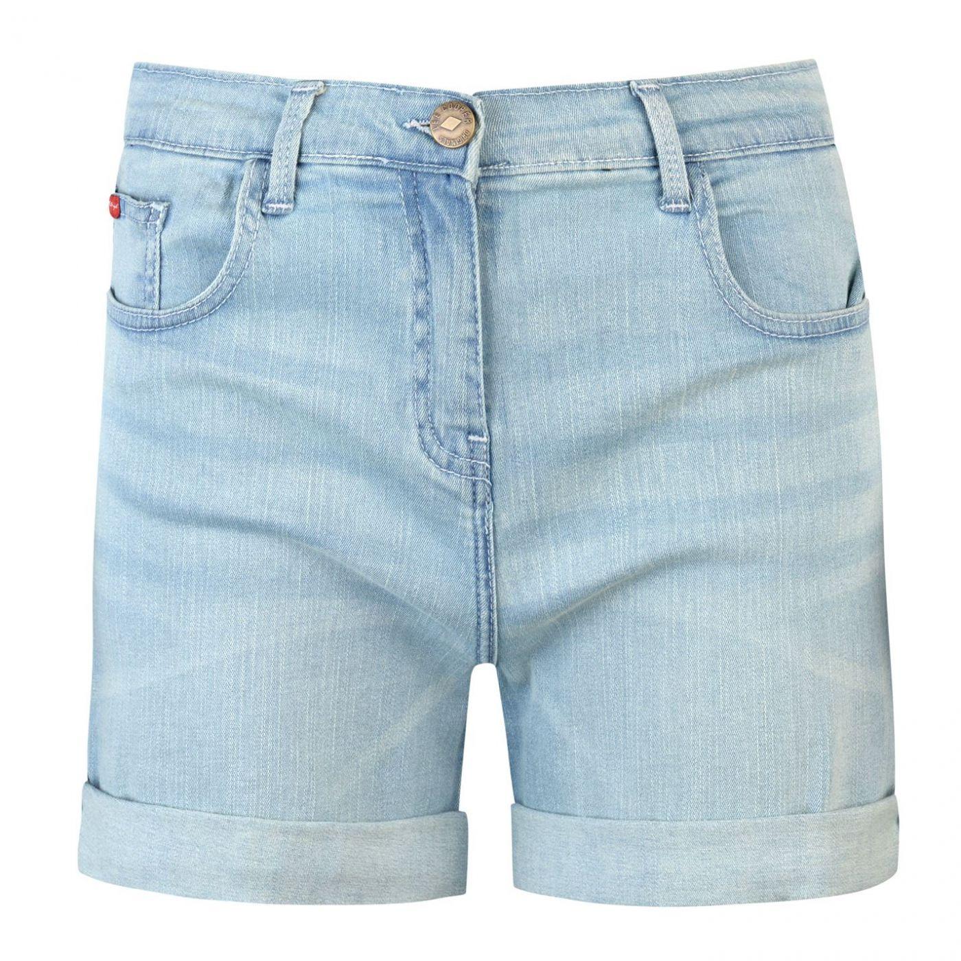 Lee Cooper Regular Denim Shorts Ladies