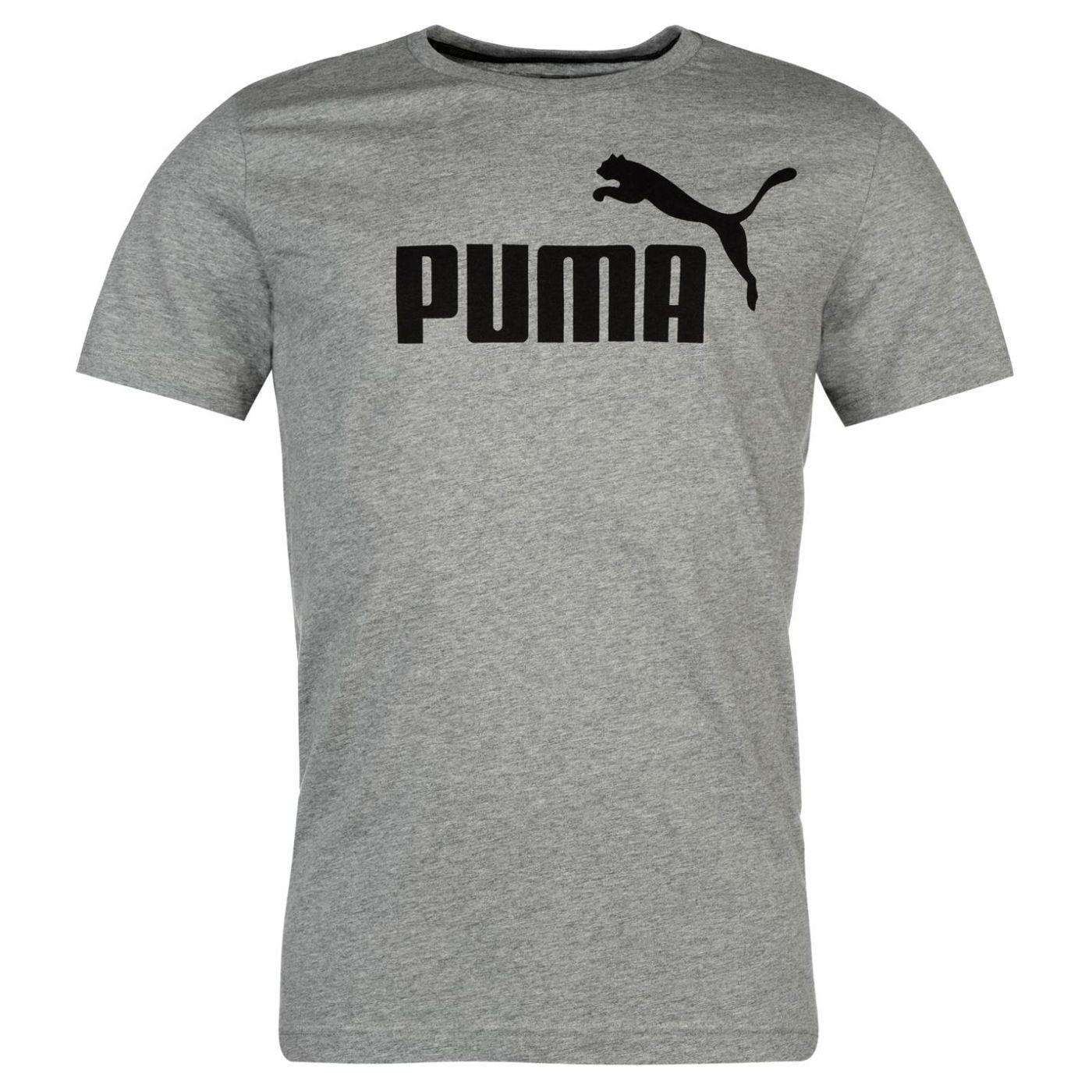Puma No 1 Logo T Shirt Mens