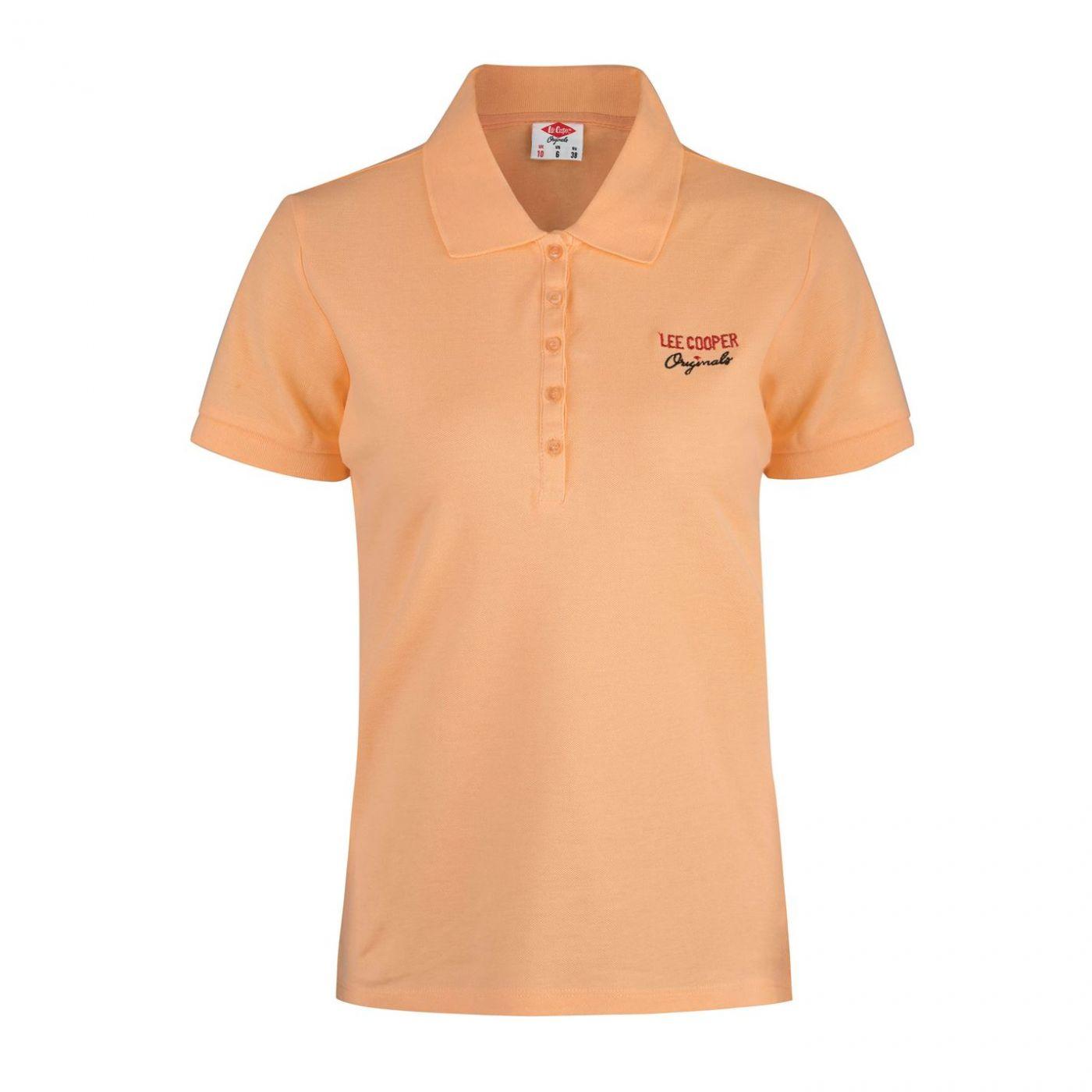 Lee Cooper Plain Polo Shirt Ladies