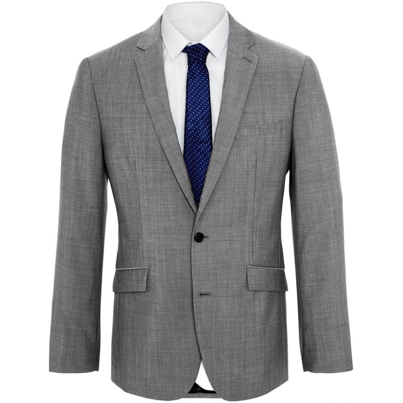 Kenneth Cole Kennedy grey mohair jacket