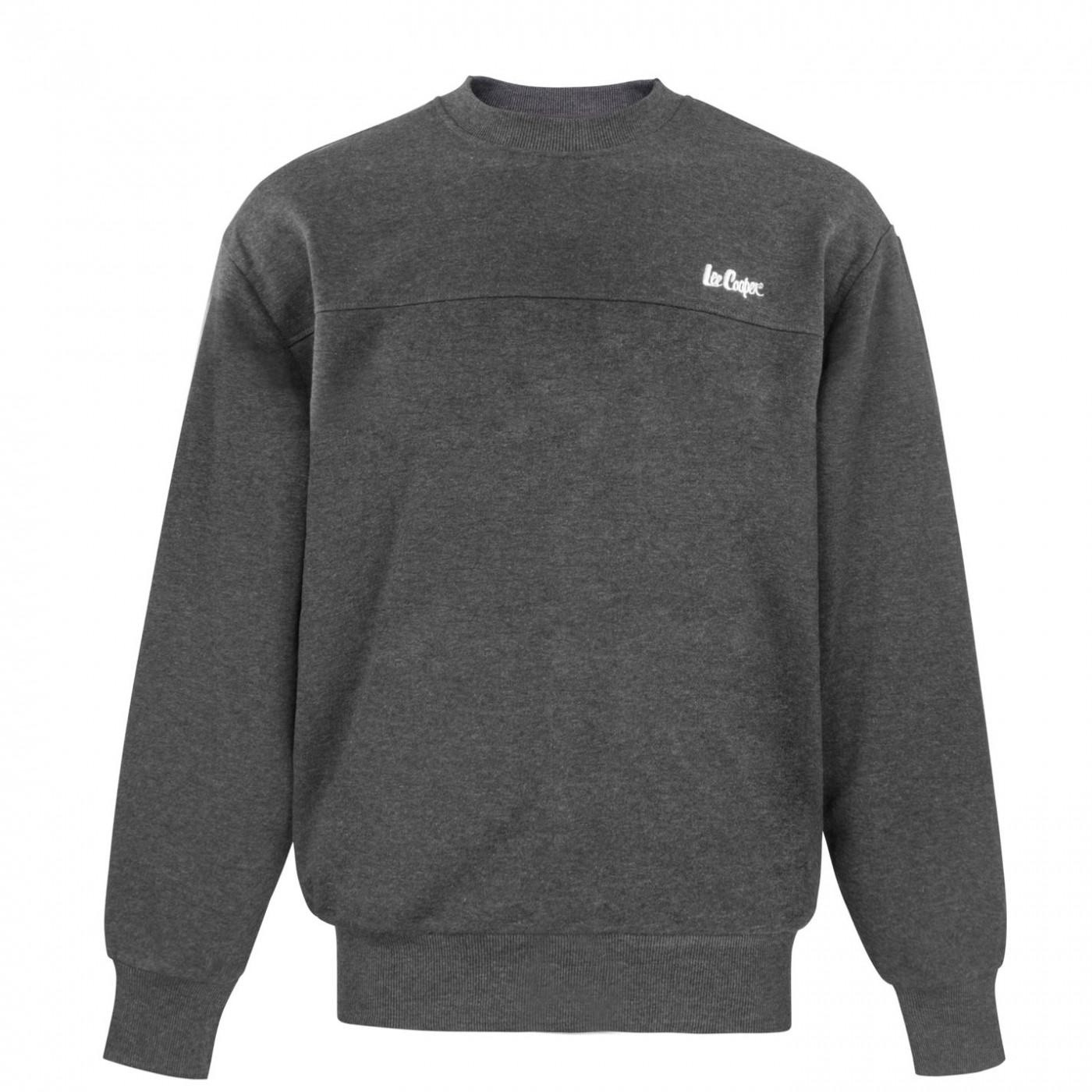 Lee Cooper Fleece Crew Sweater Mens