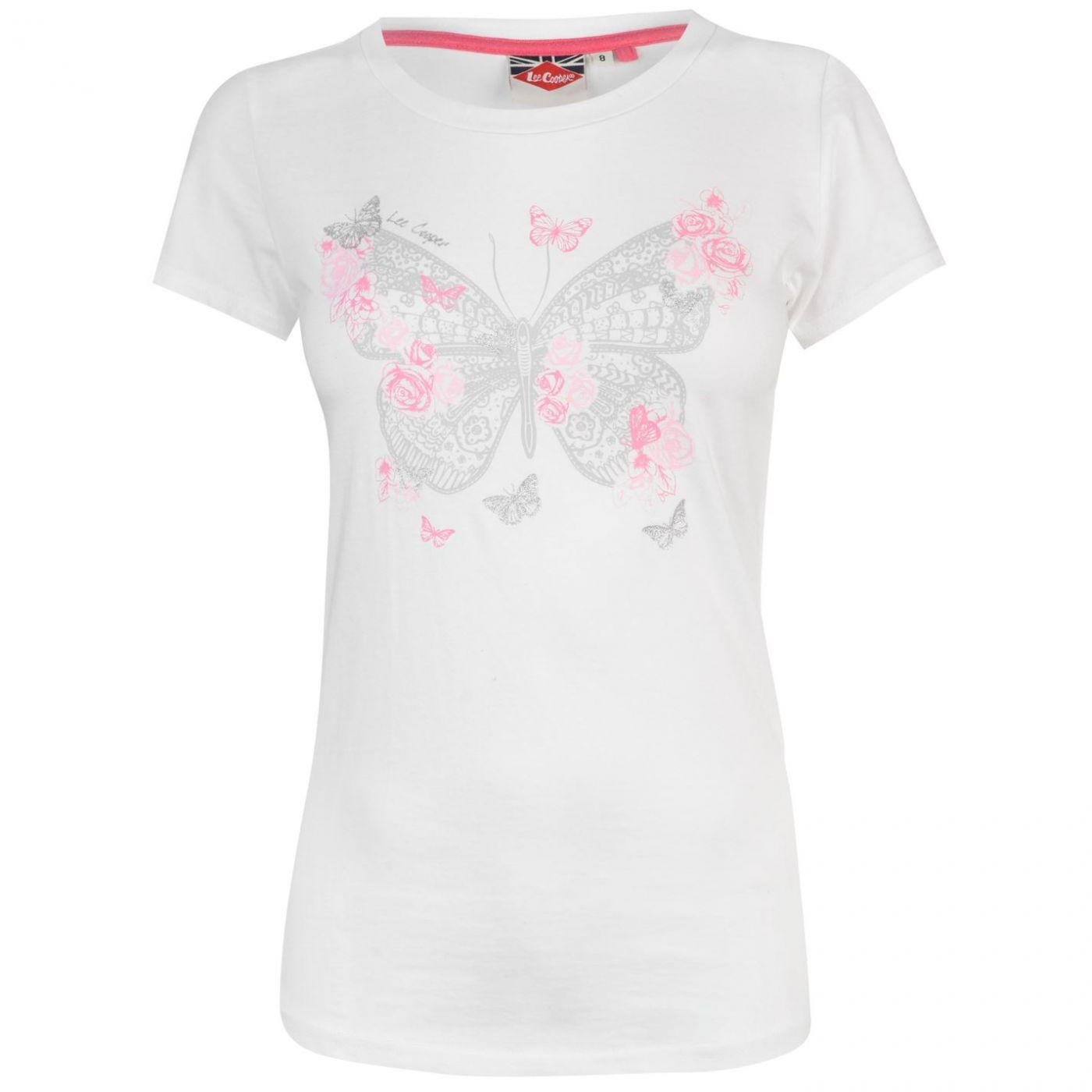 Triko Lee Cooper Classic T Shirt dámske