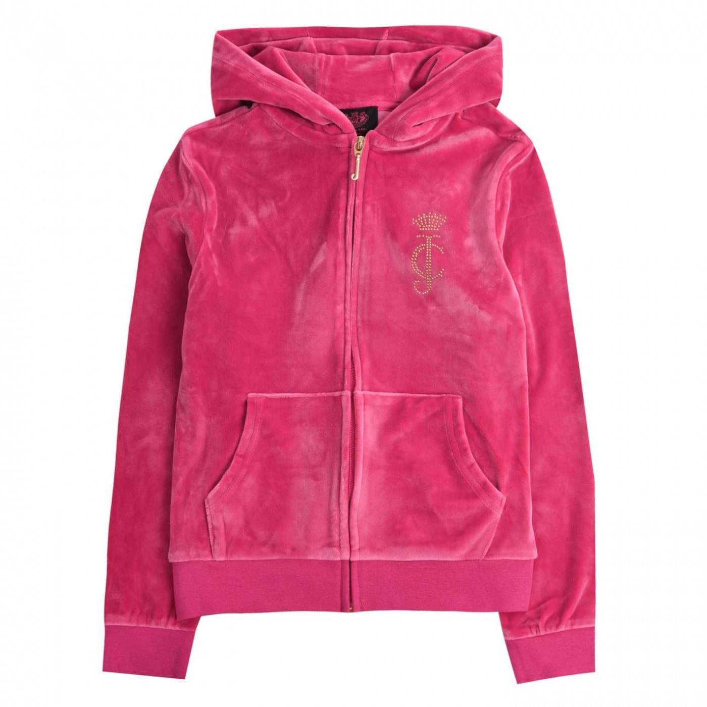 Juicy Couture Zip Through Hoodie