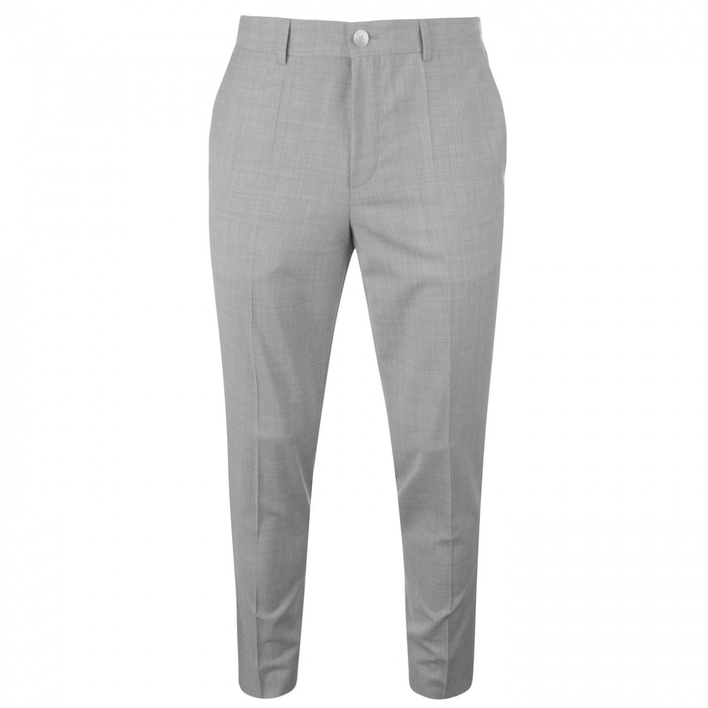 Hugo Mens Slim Fit Textured Chino Suit Trousers