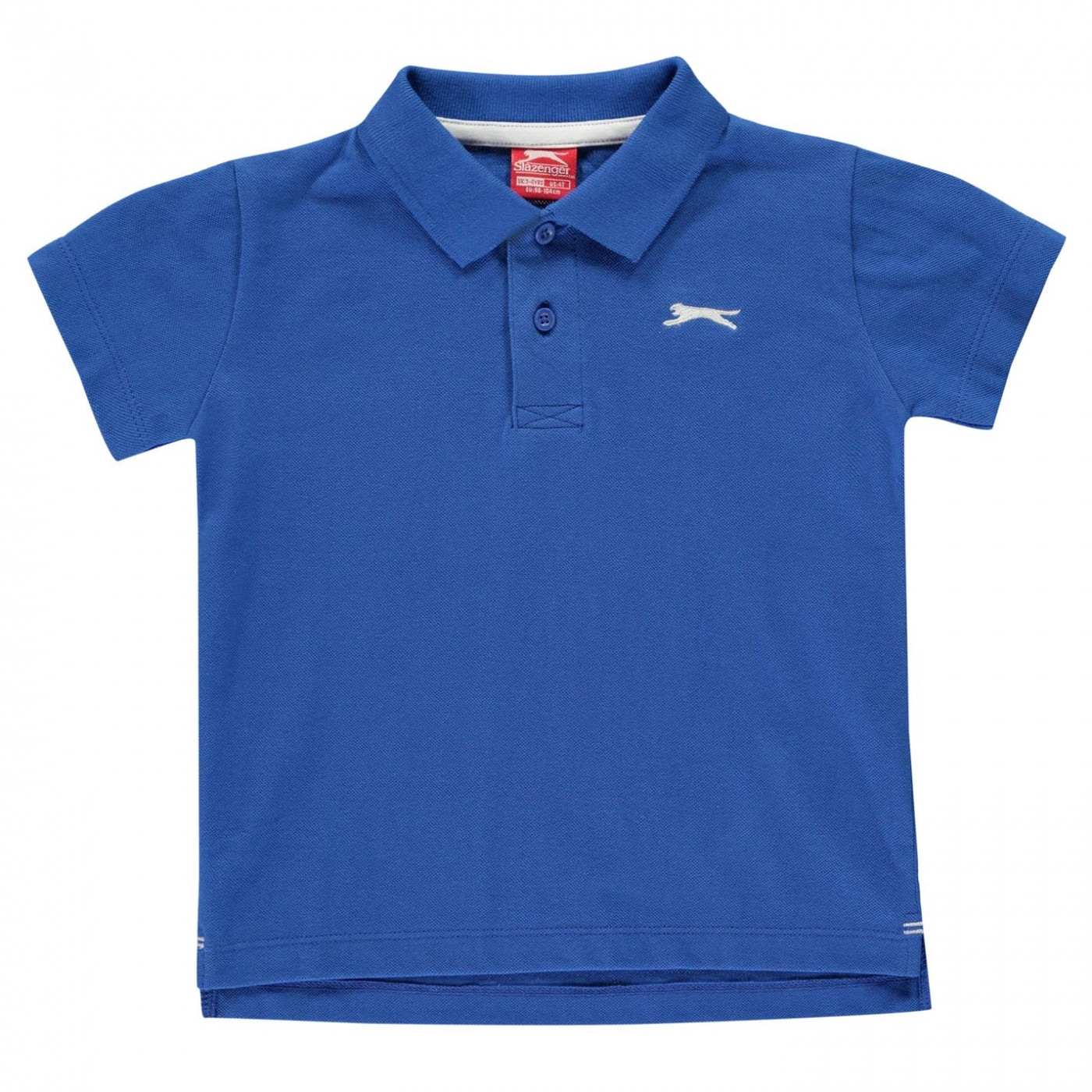 Slazenger Plain Polo Shirt Infant Boys