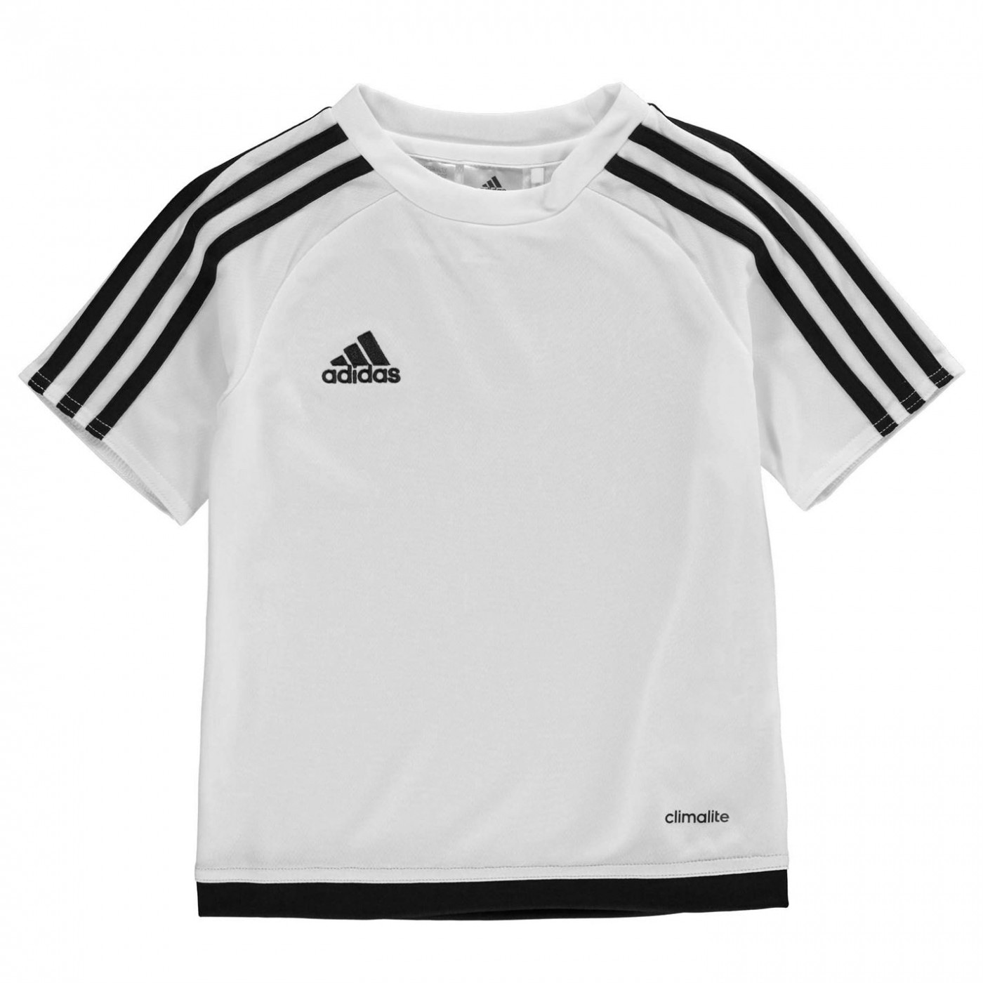 Adidas 3 Stripe Estro Tee Shirt Infants