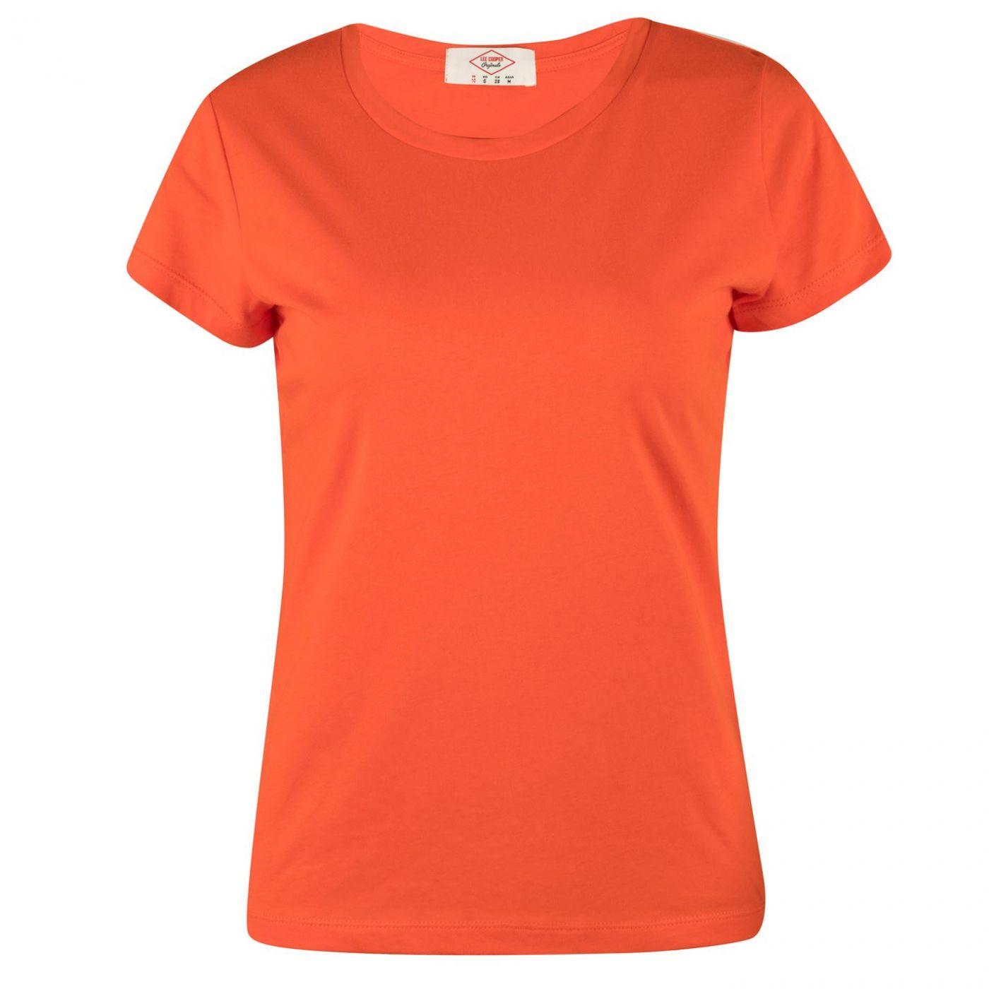 Lee Cooper Comb Cotton T Shirt Ladies