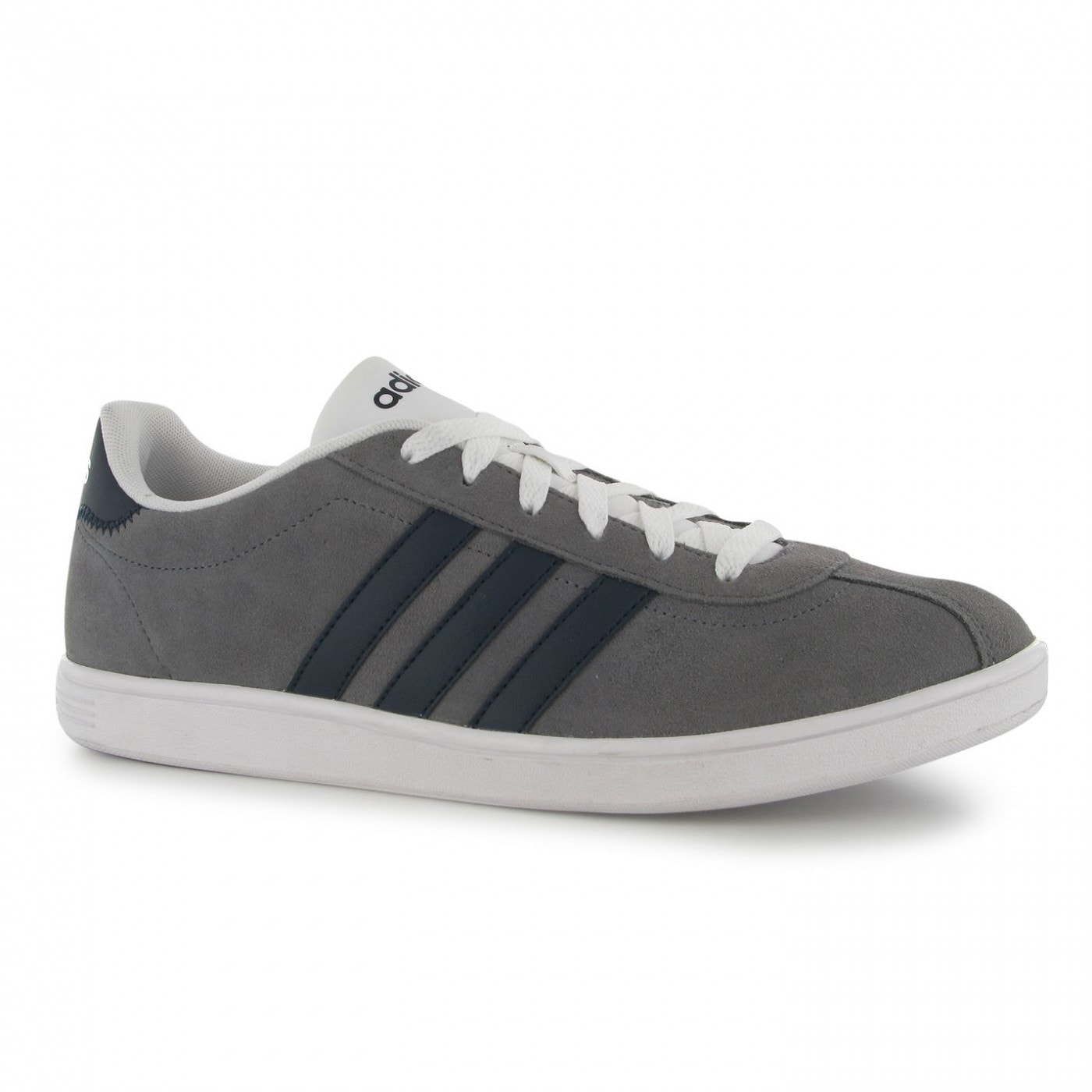 adidas vl neo court suede trainers mens
