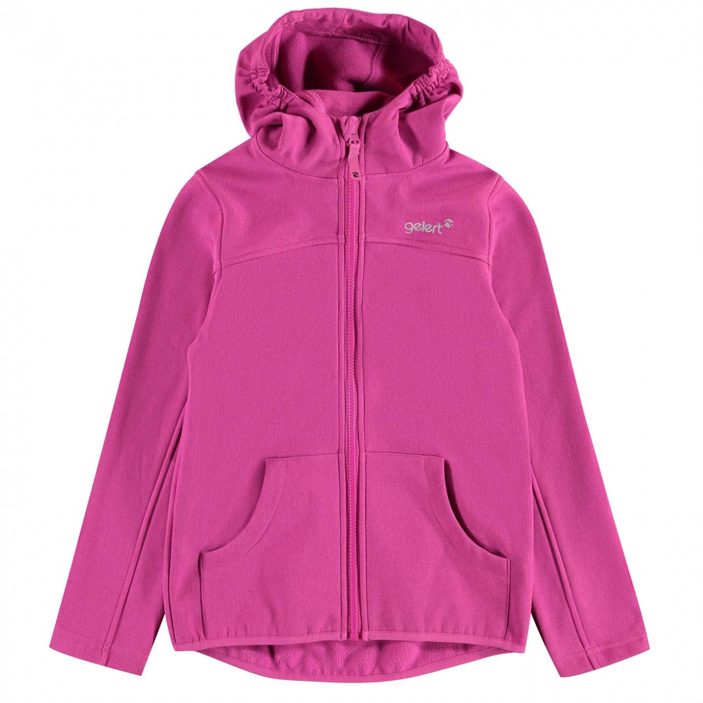 Gelert Softshell Hooded Jacket Unisex Junior