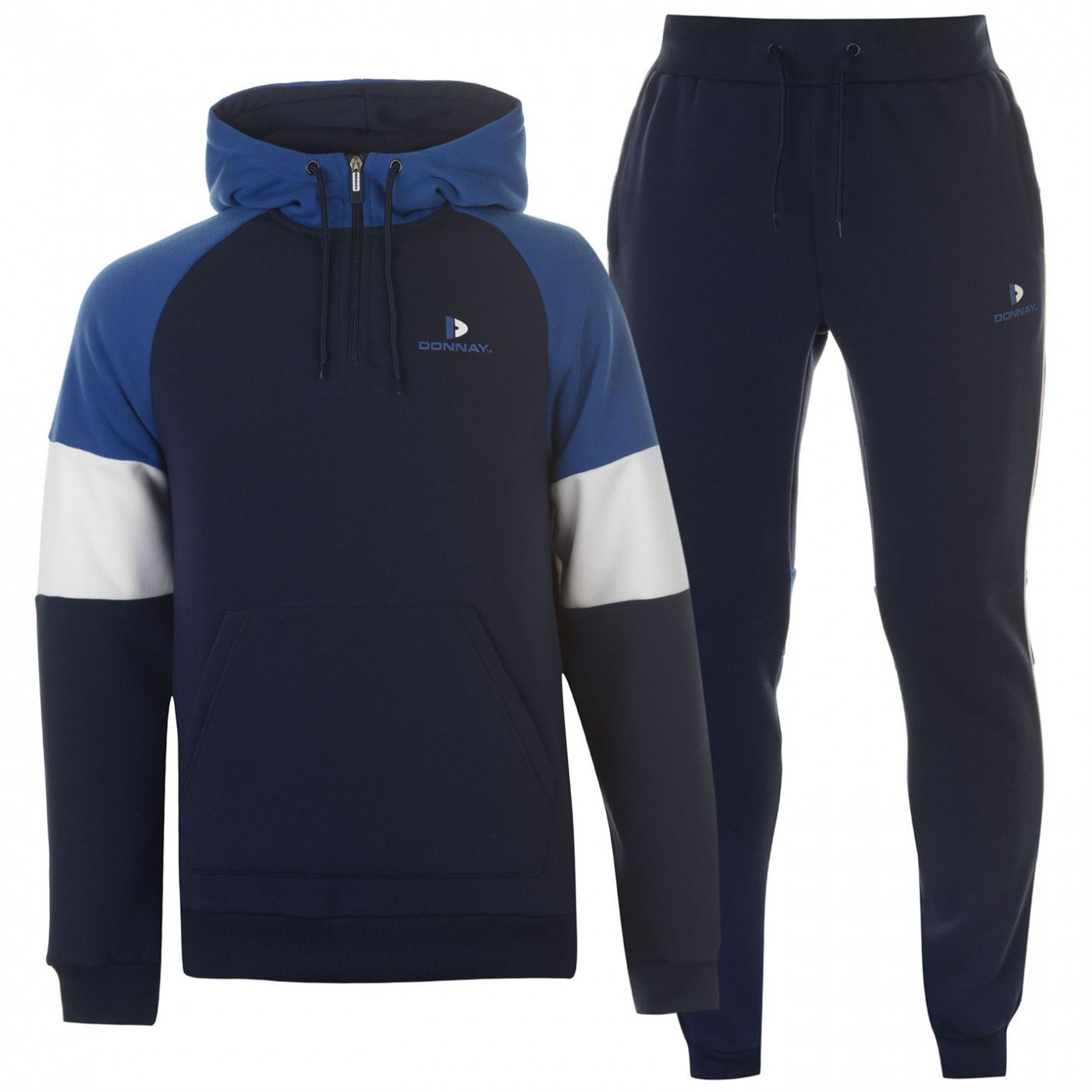 Donnay  quarter  Zip Tracksuit Mens