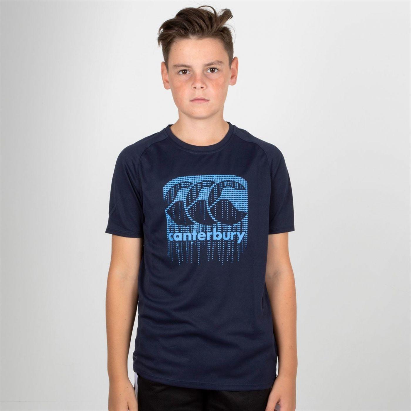 Canterbury Vapodri Short Sleeve T Shirt Juniors