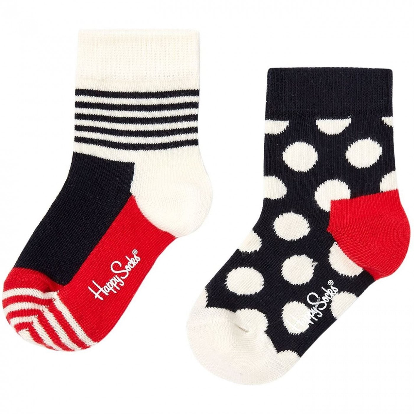 Happy Socks Nautical Spot and Stripe Socks