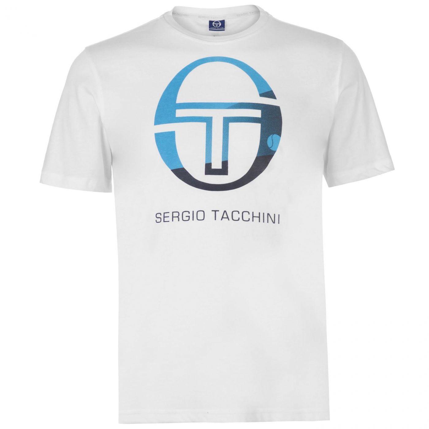 Sergio Tacchini Elbow T Shirt Mens