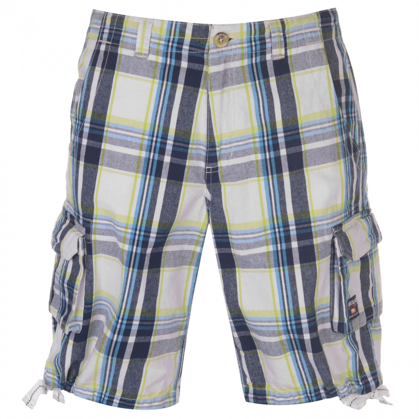 SoulCal Checked Cargo Shorts Mens
