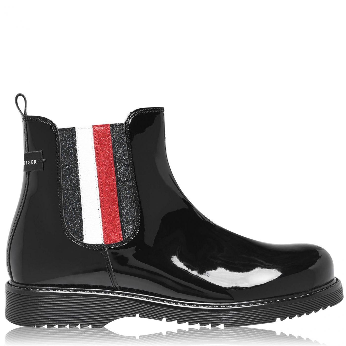 Tommy Hilfiger Tommy Rubber Stripe Boots