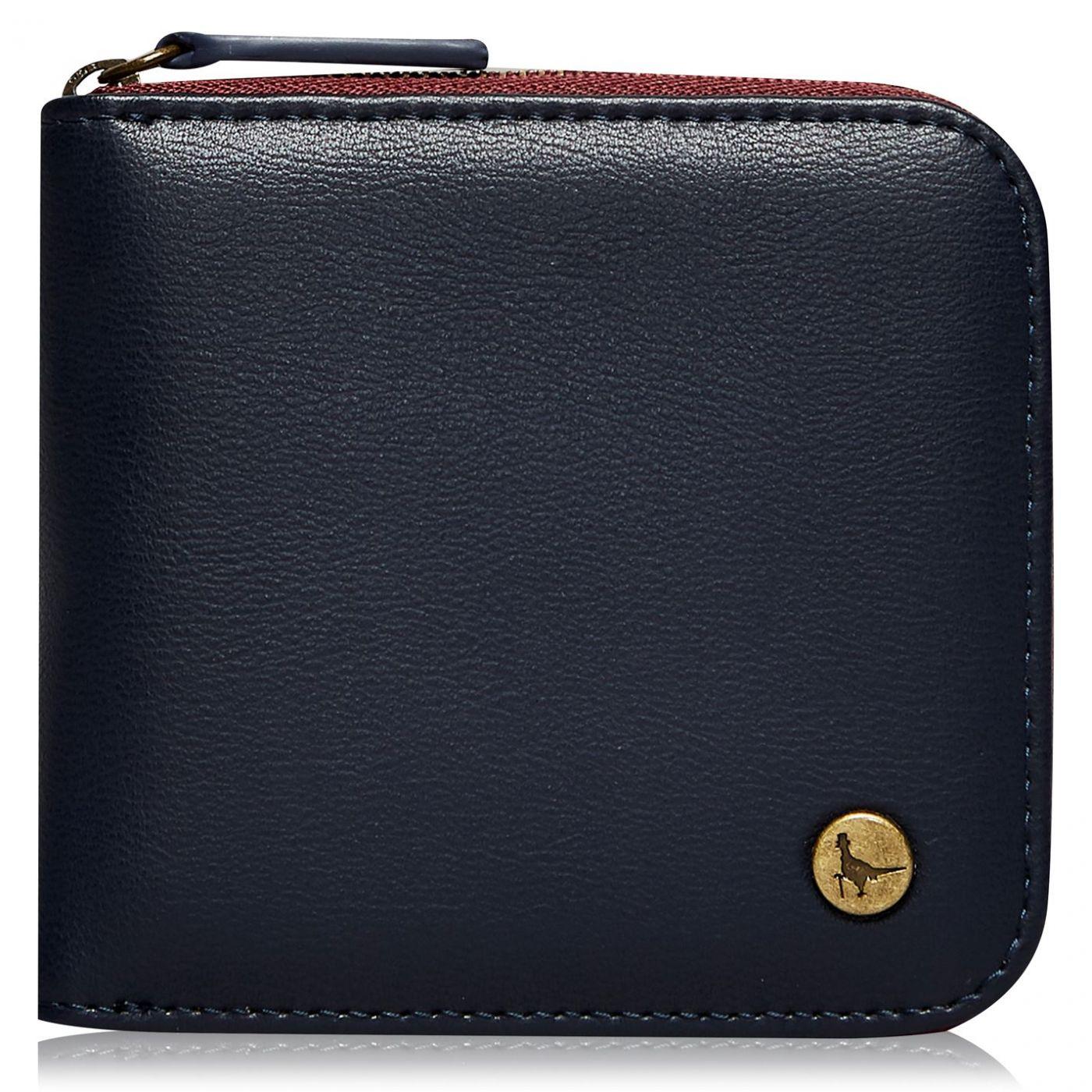 Jack Wills Farrington Half Zip Wallet