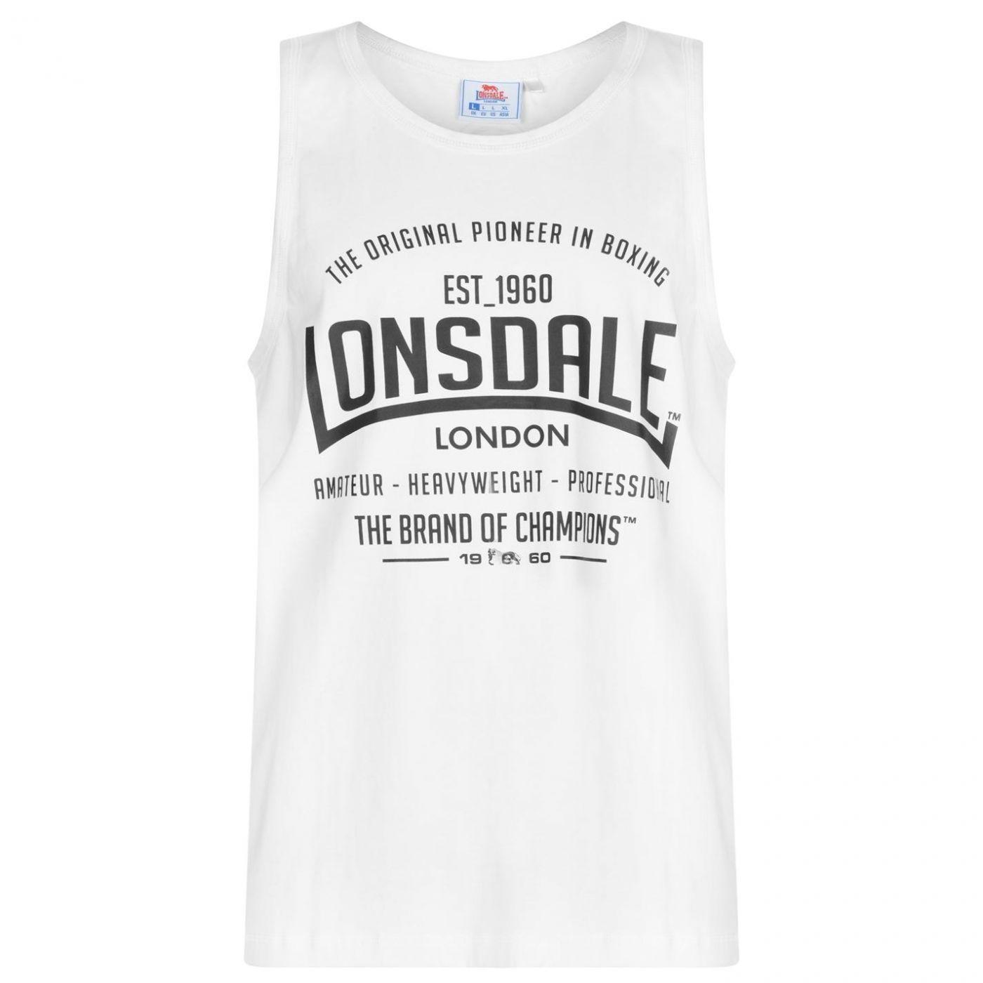Men's vest Lonsdale Boxing