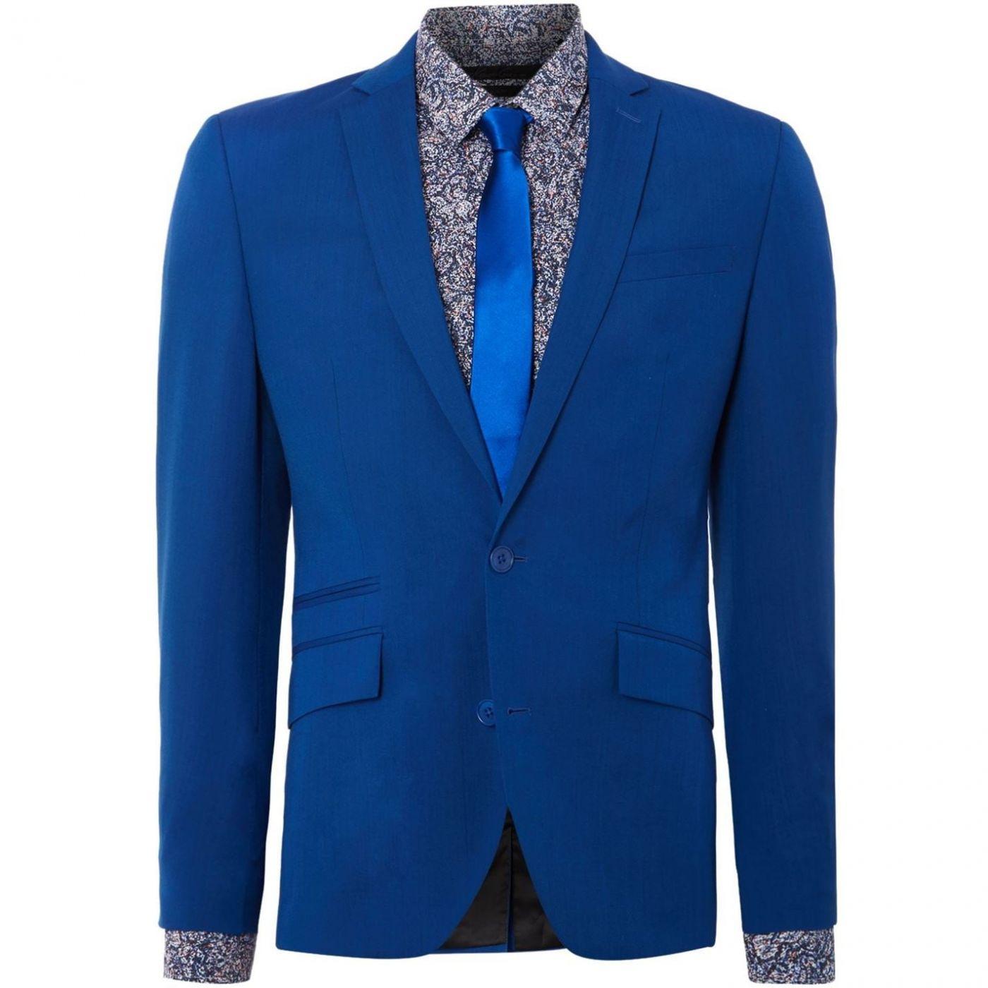 Kenneth Cole Landon Slim fit Notch Lapel Suit Jacket