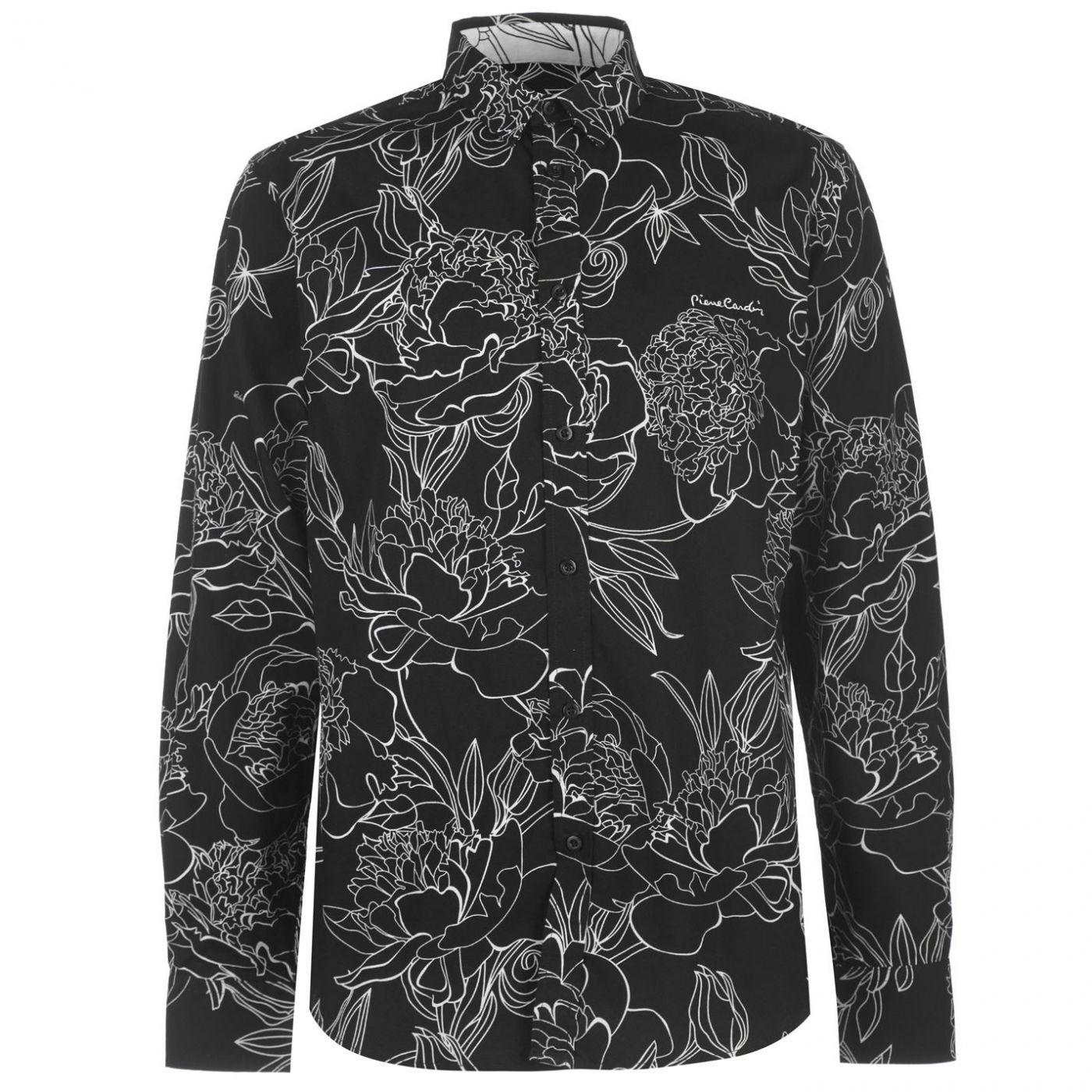Men's Shirt Pierre Cardin Floral Patterned