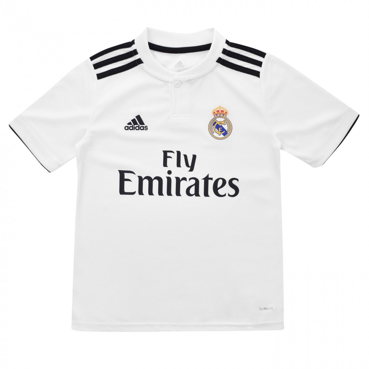5f9a4dfc7b4ed Adidas Real Madrid Home Jersey Junior Boys - FACTCOOL