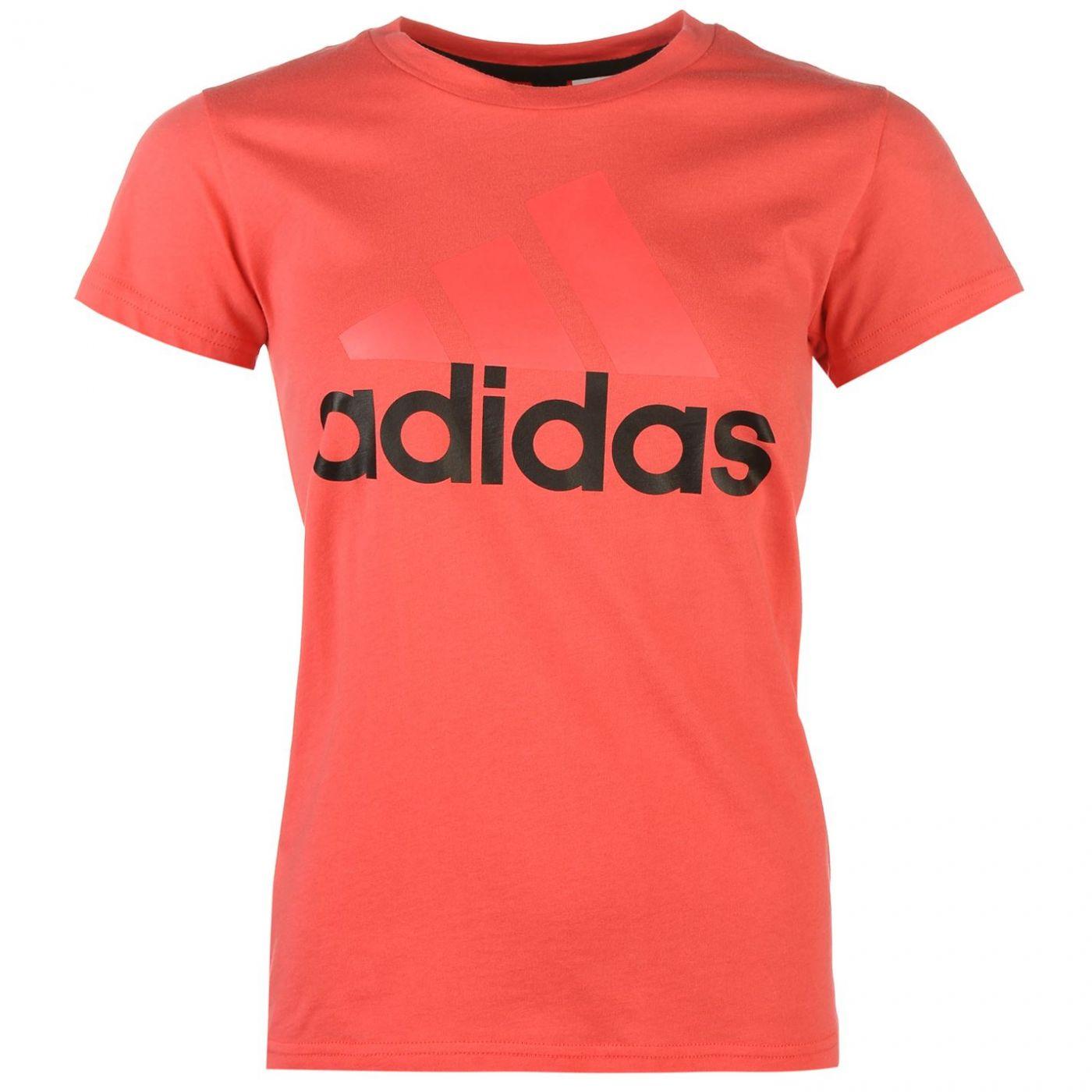 Triko adidas Linear QT T Shirt dámske