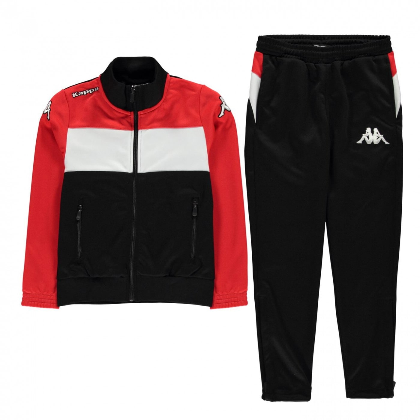 Kappa Tracksuit Set Junior Boys